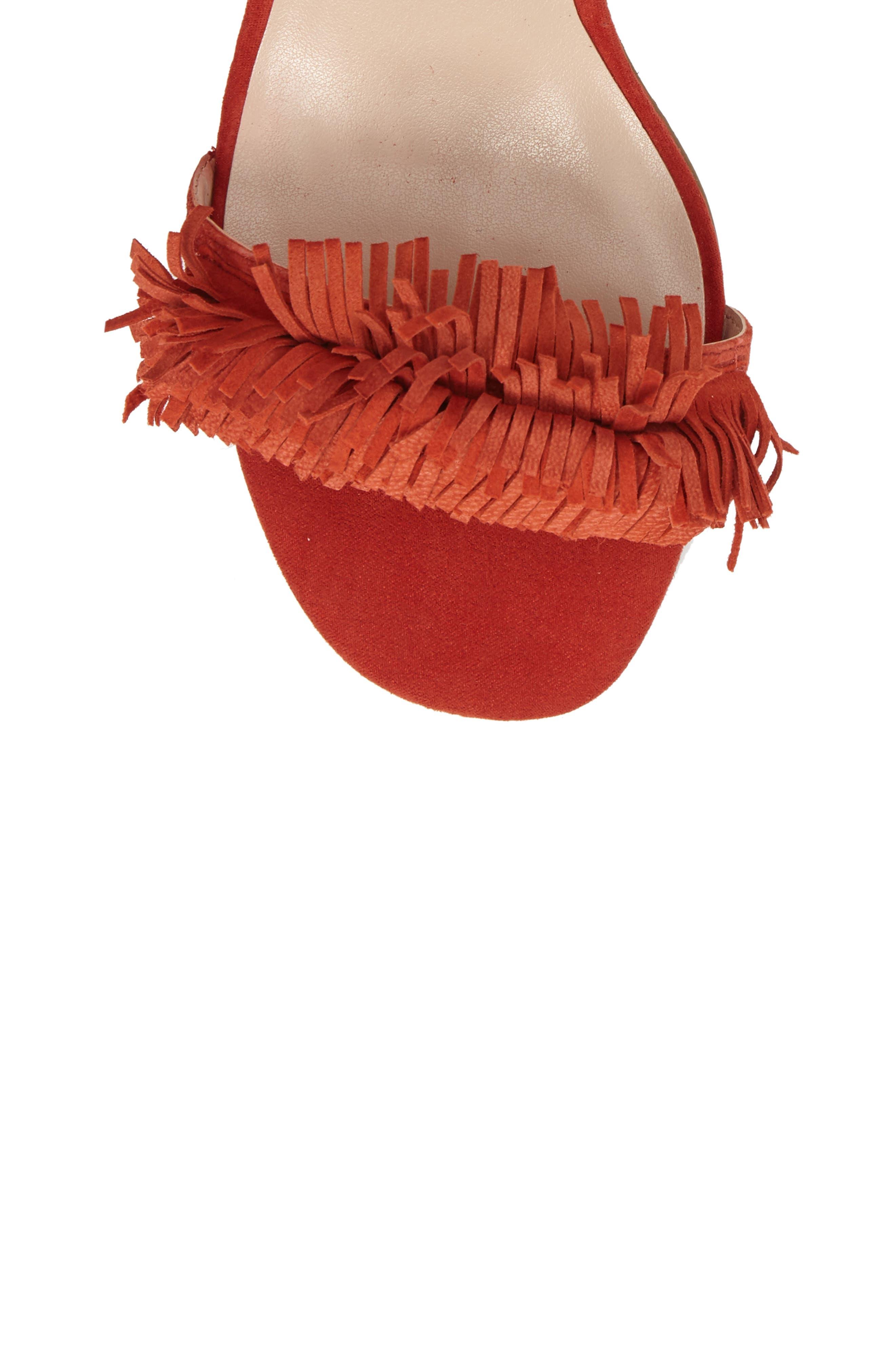 Alternate Image 5  - Sole Society Sera Wraparound Fringe Sandal (Women)