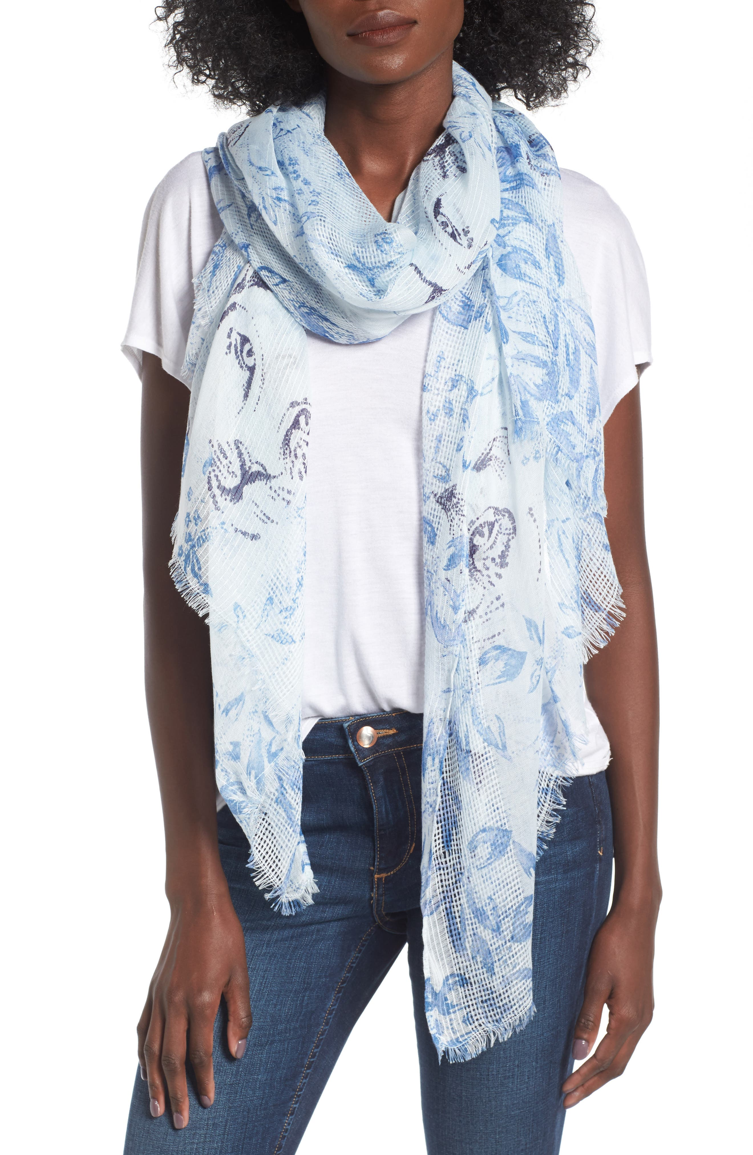 Hinge Jungle Cat Scarf