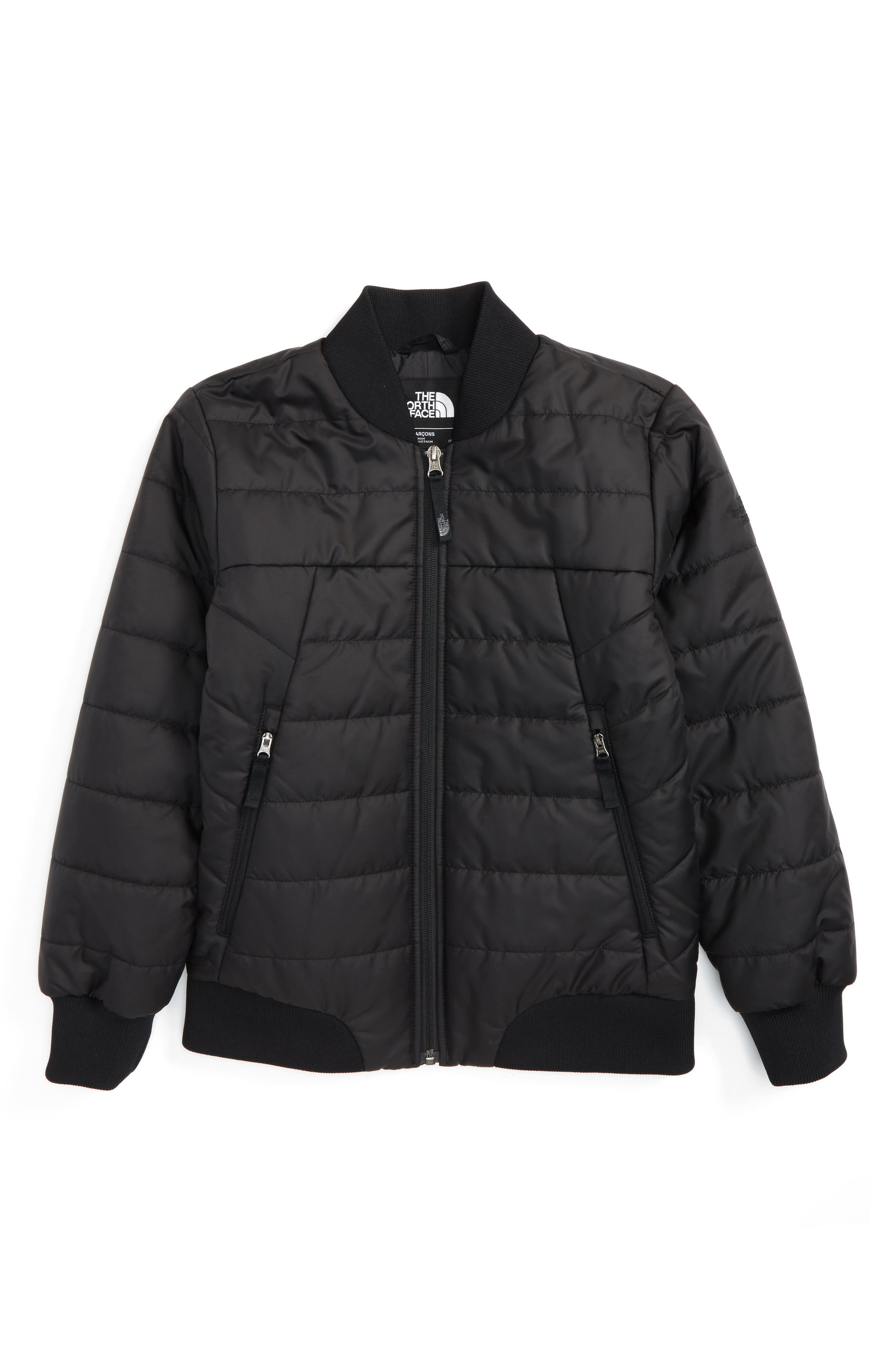 The North Face Bodenburg Quilted 550-Fill Down Insulated Bomber Jacket (Big Boys)