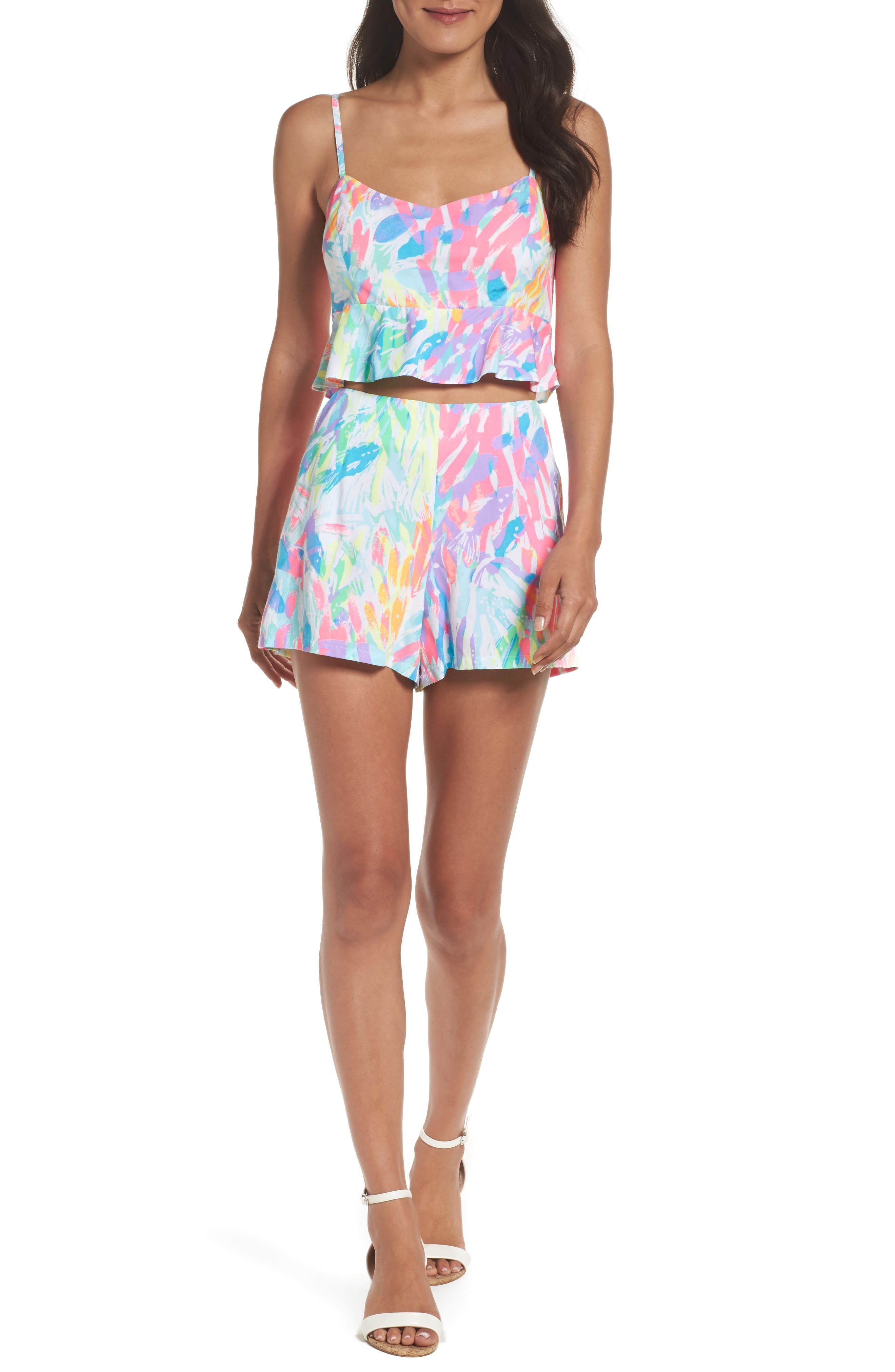Lilly Pulitzer® Linnea Crop Top & Shorts Set