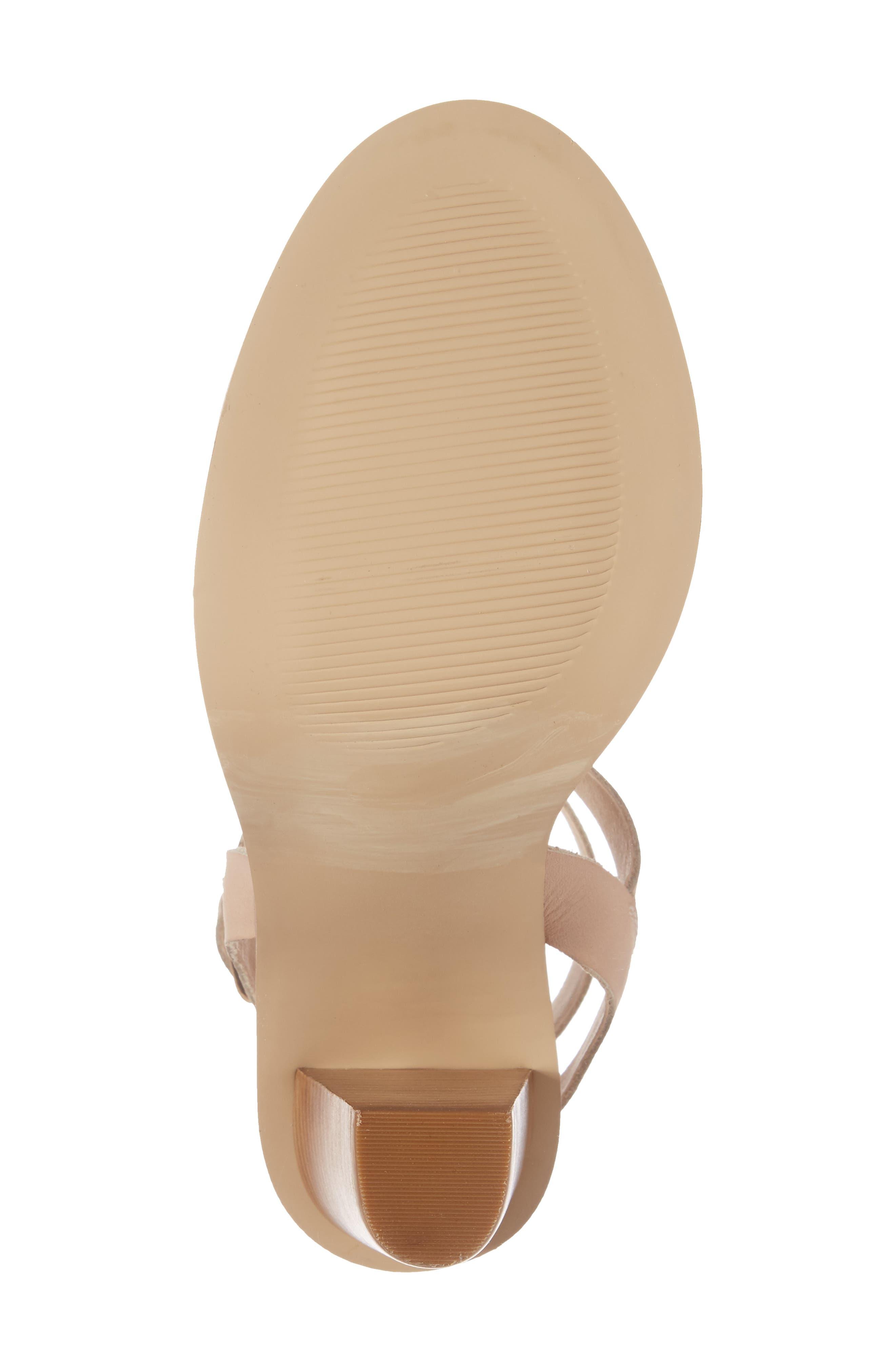 Alternate Image 6  - Very Volatile Poshy Ankle Wrap Sandal (Women)
