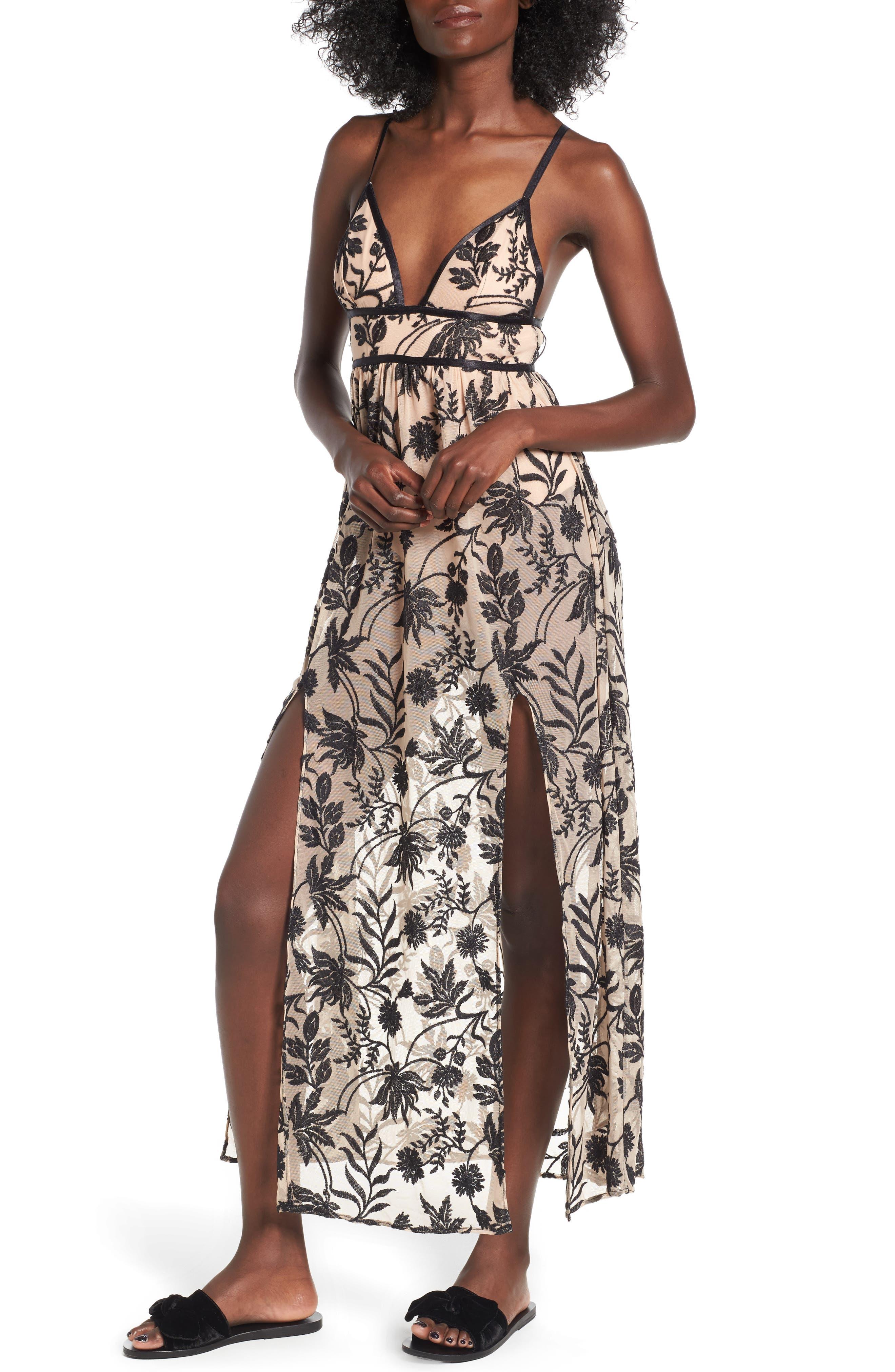 Somedays Lovin Dusk Embroidered Maxi Dress