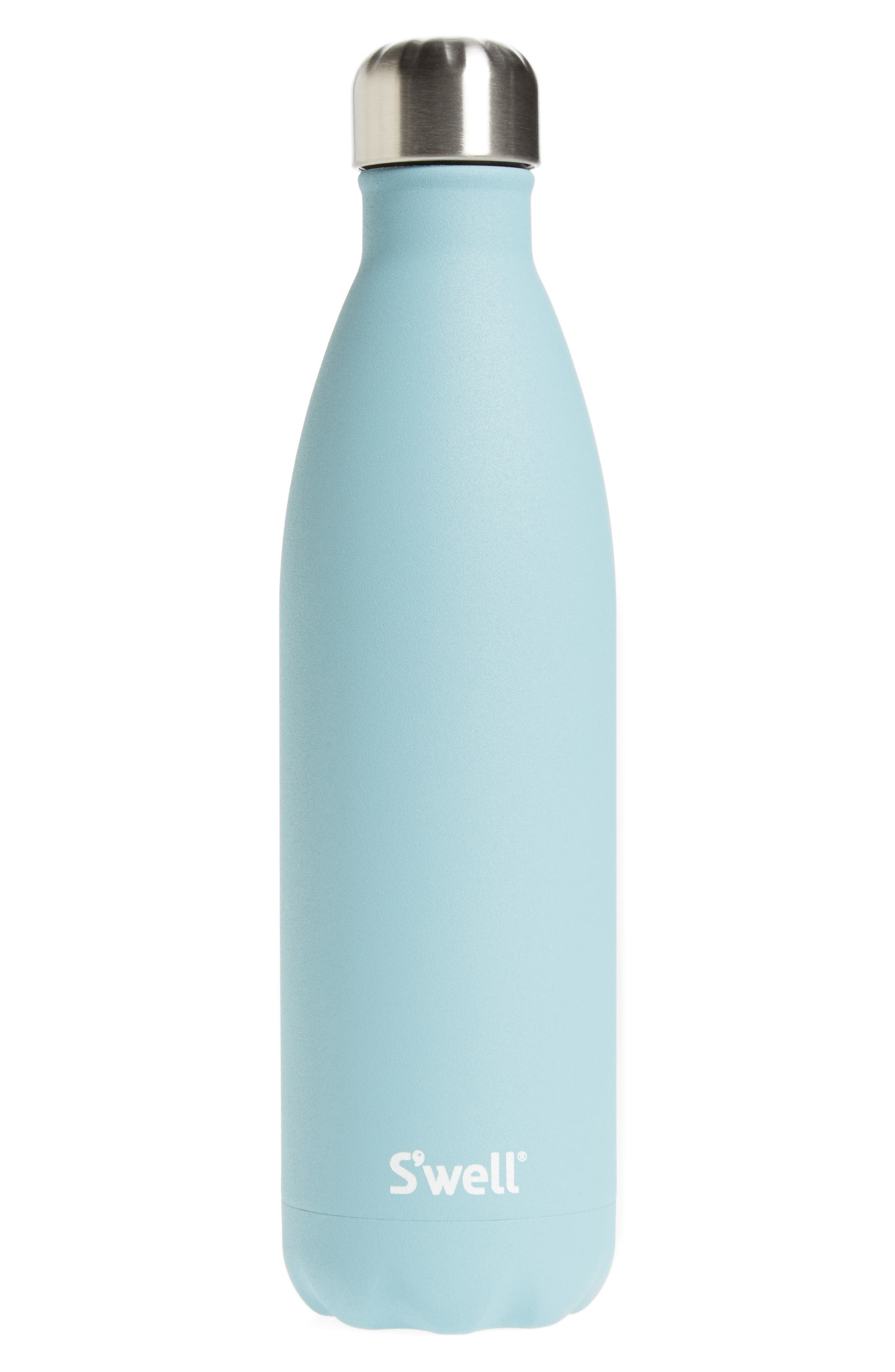 Alternate Image 1 Selected - S'well Aquamarine Insulated Stainless Steel Water Bottle