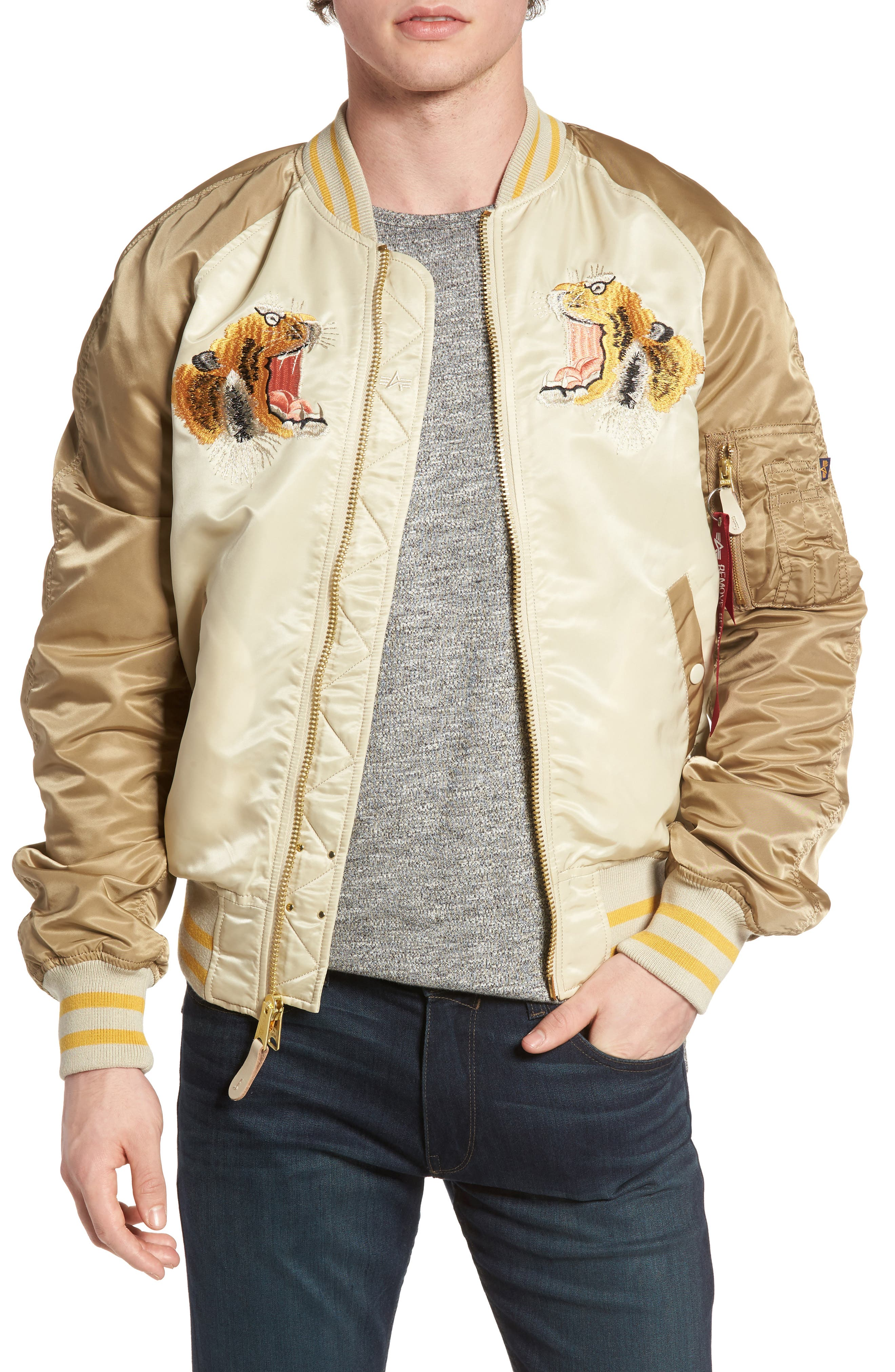 Alpha Industries Reversible Tiger Souvenir Jacket