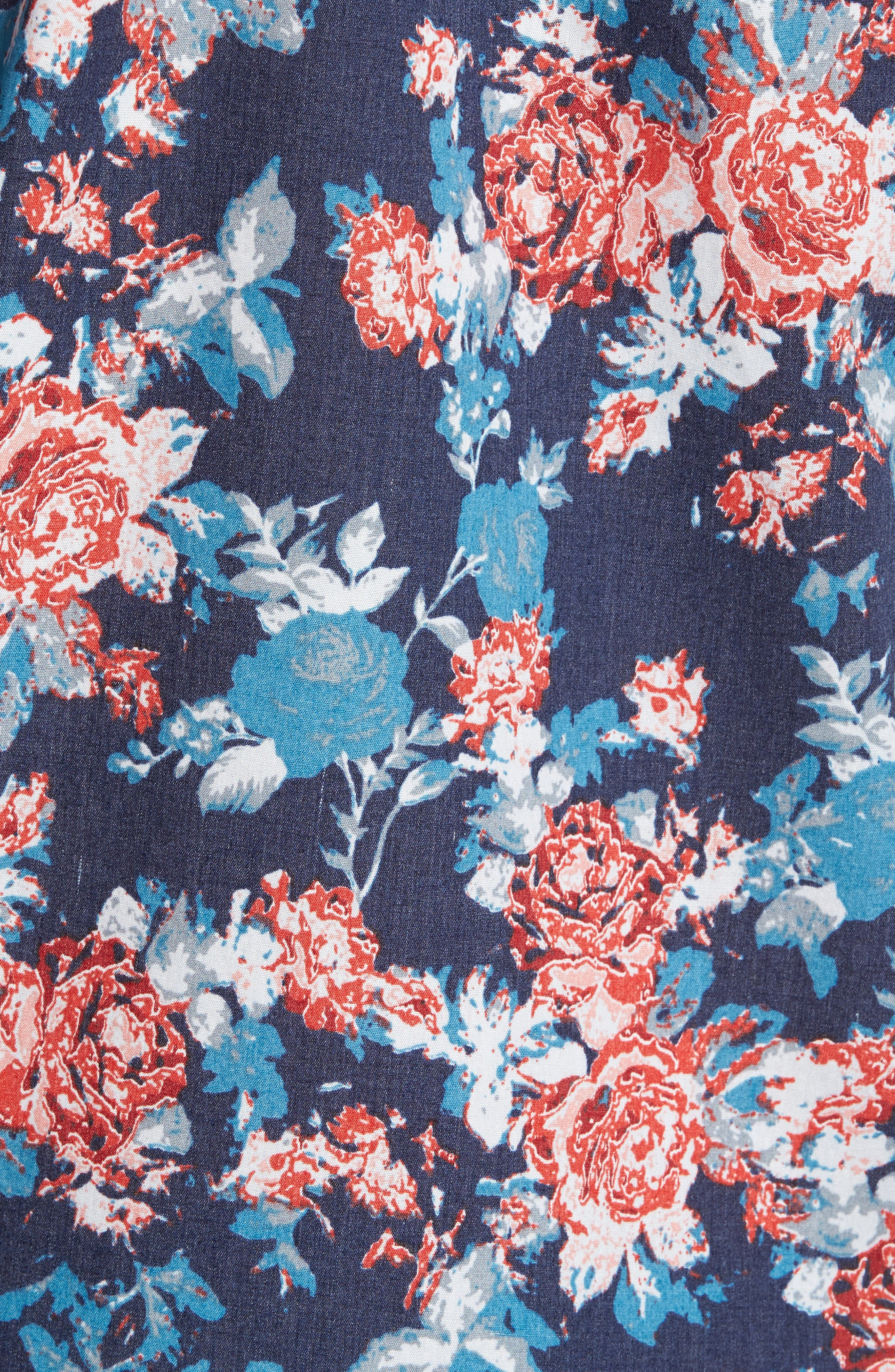 Alternate Image 5  - 1901 Wallpaper Floral Print Shirt