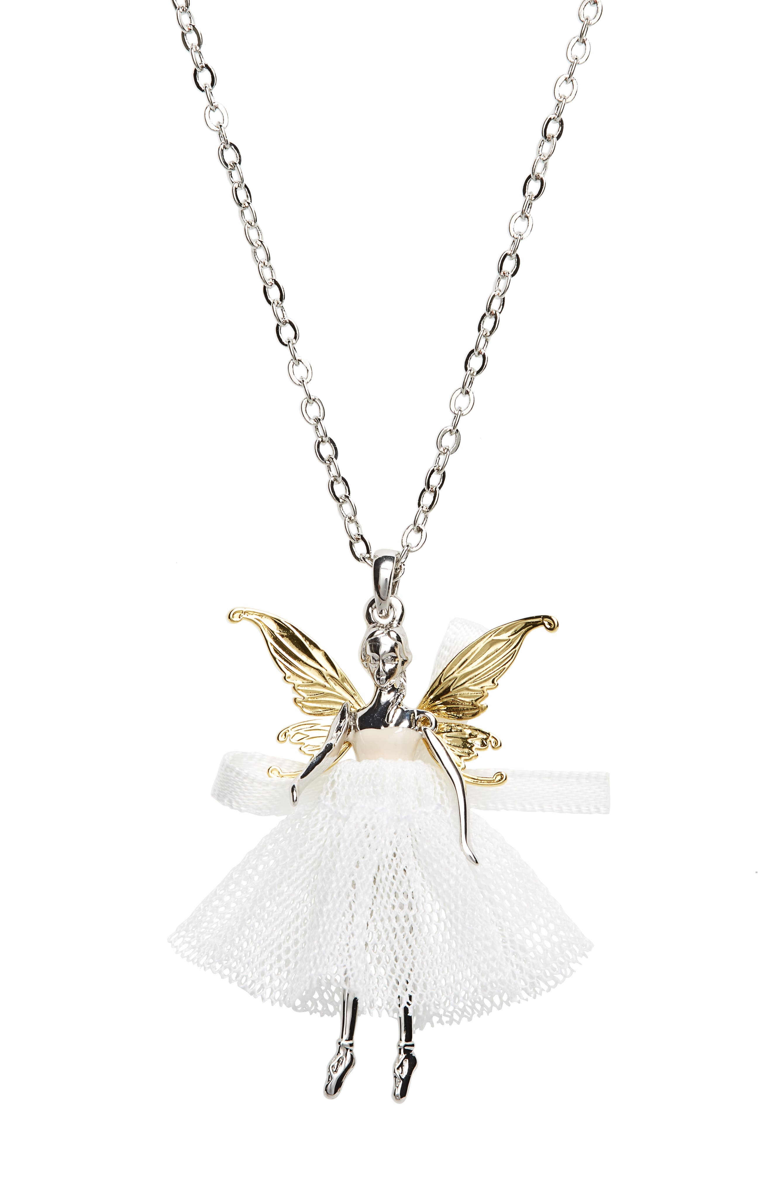 Ted Baker London Faylinn Mini Fairy Ballerina Necklace