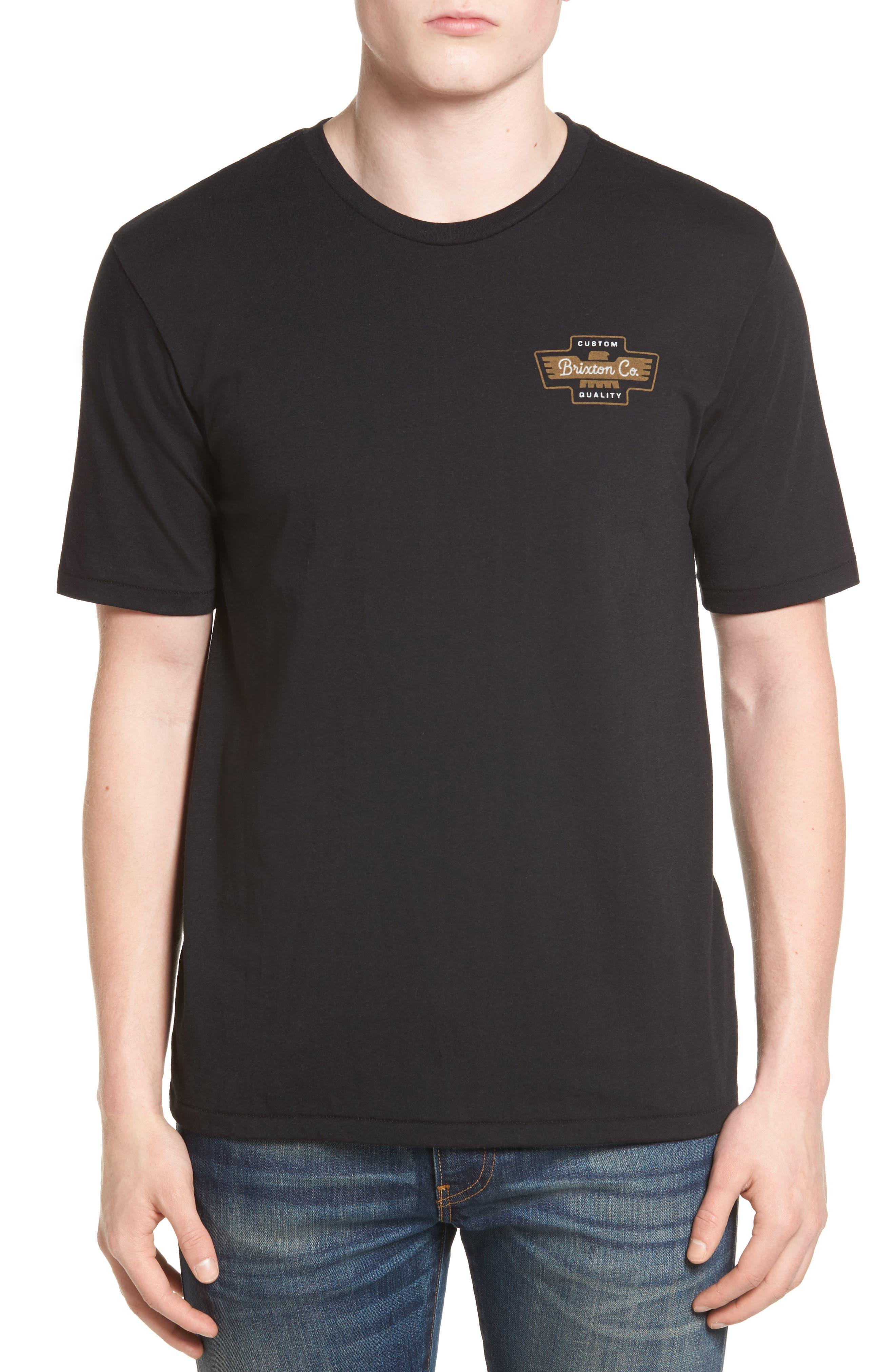 Brixton Federal Premium Logo T-Shirt