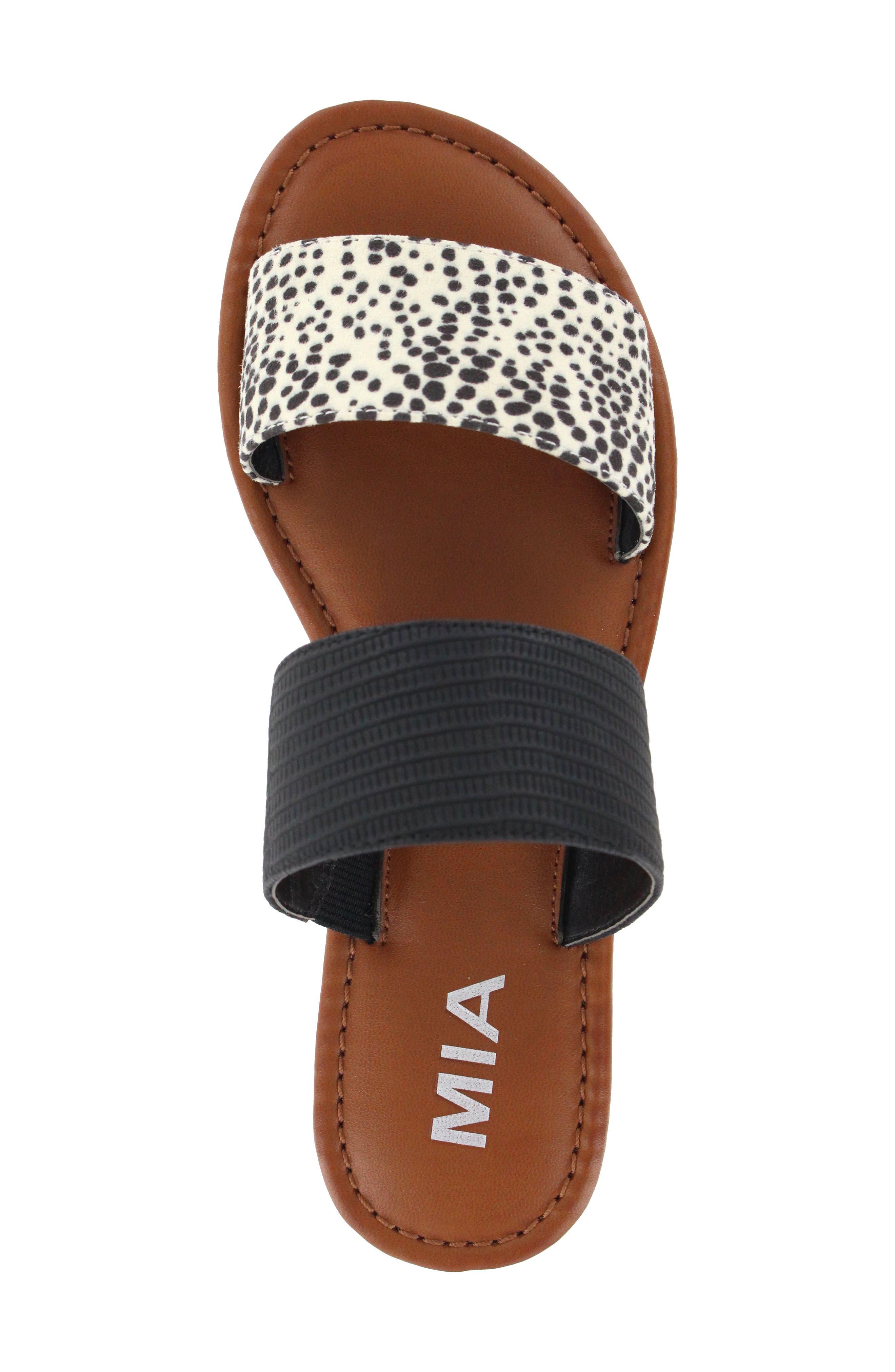 Alternate Image 5  - MIA Dottie Slide Sandal (Women)