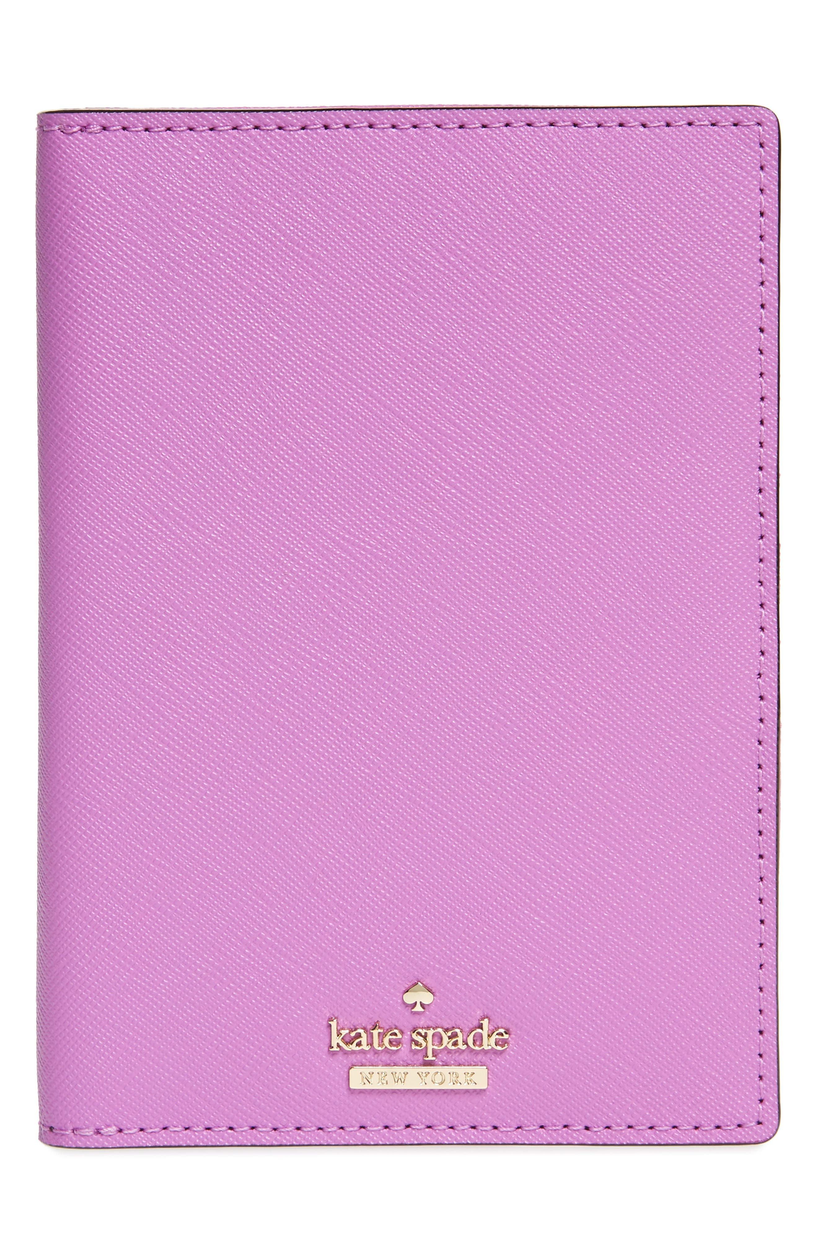 KATE SPADE NEW YORK 'cameron street' leather passport