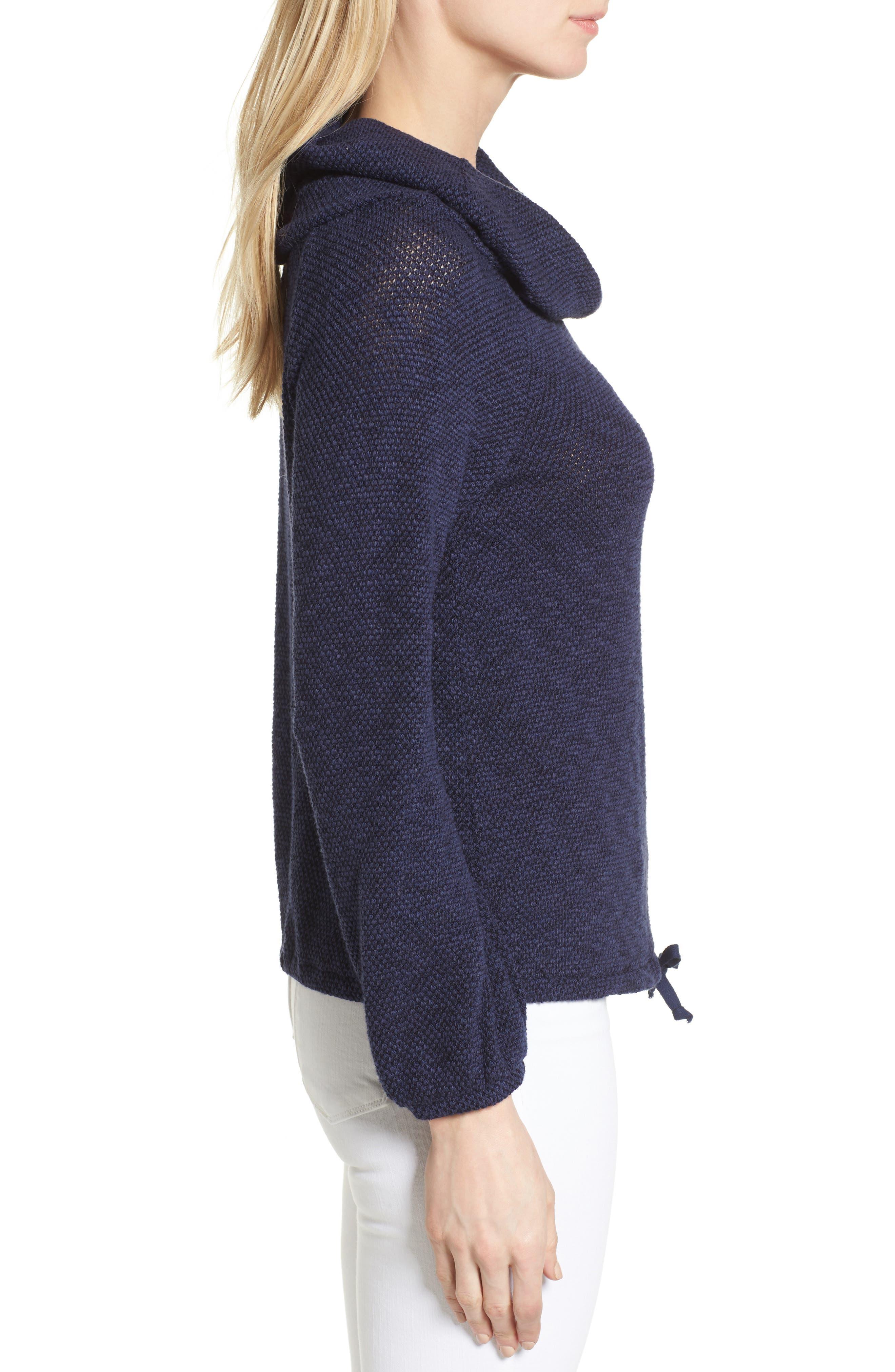 Alternate Image 3  - Caslon® Convertible Off the Shoulder Pullover (Regular & Petite)