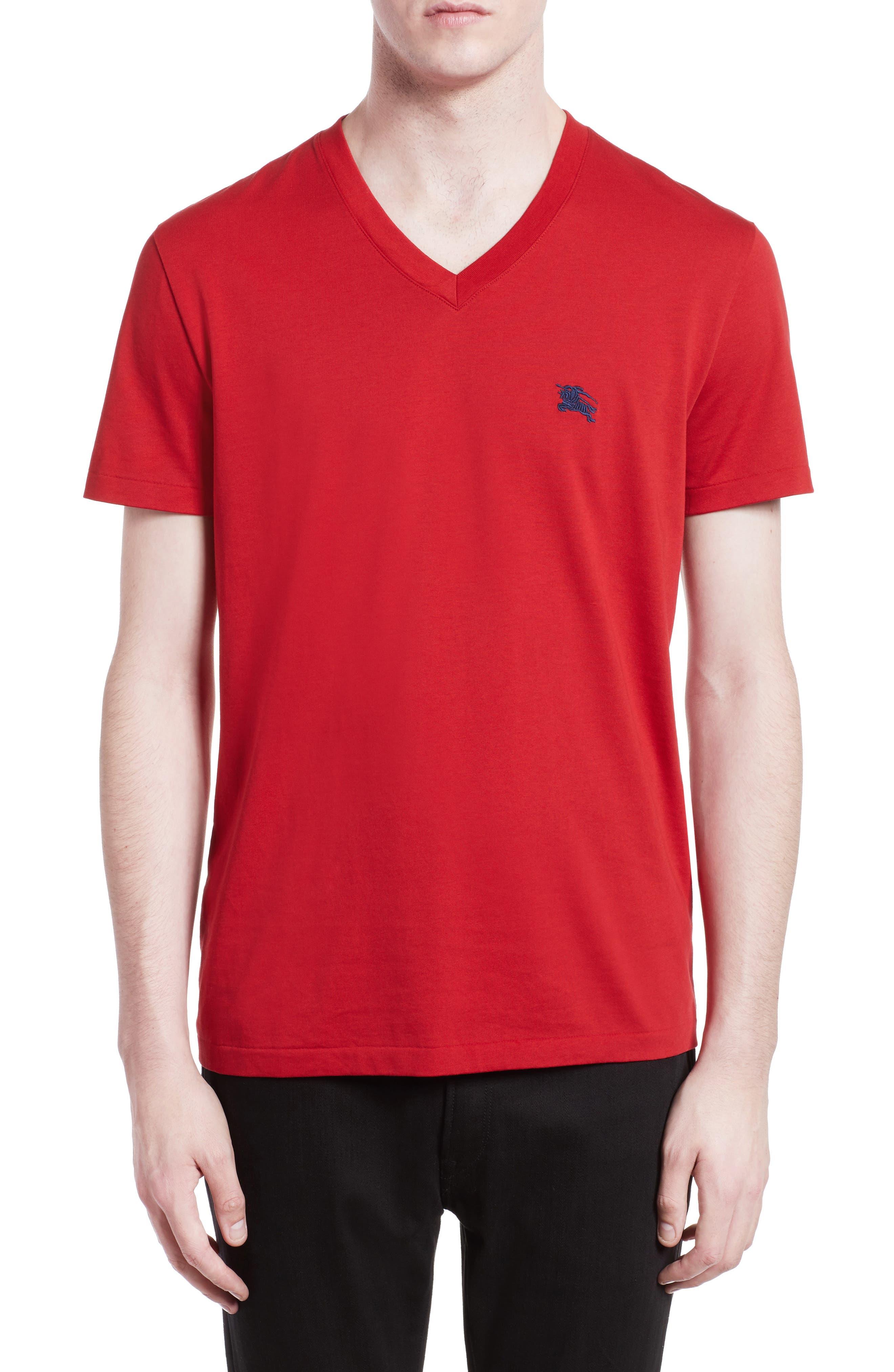 Burberry Lindon Cotton T-Shirt