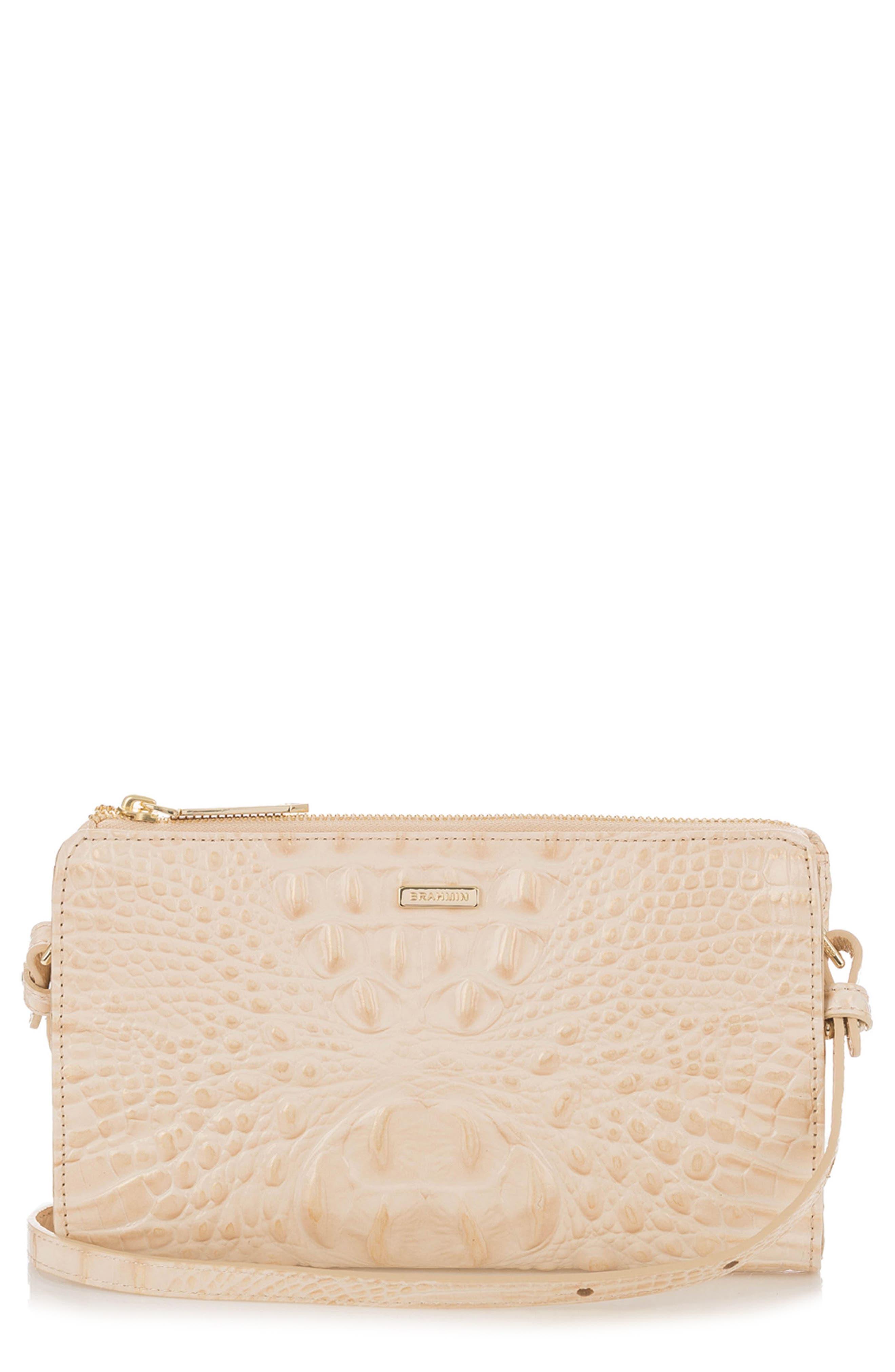 Brahmin Sienna Leather Crossbody Bag