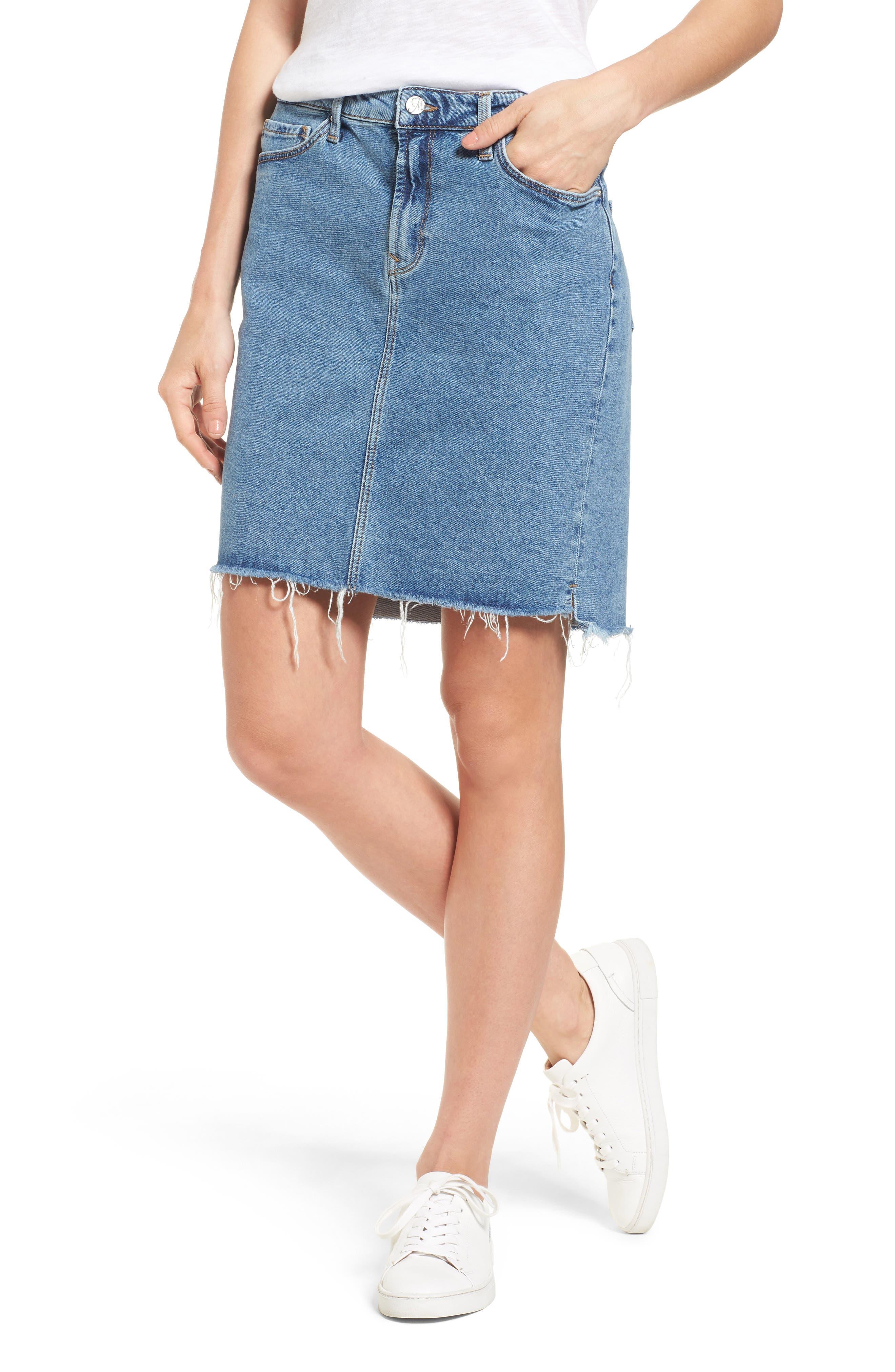 Mavi Jeans Mila Denim Skirt (Used Retro)