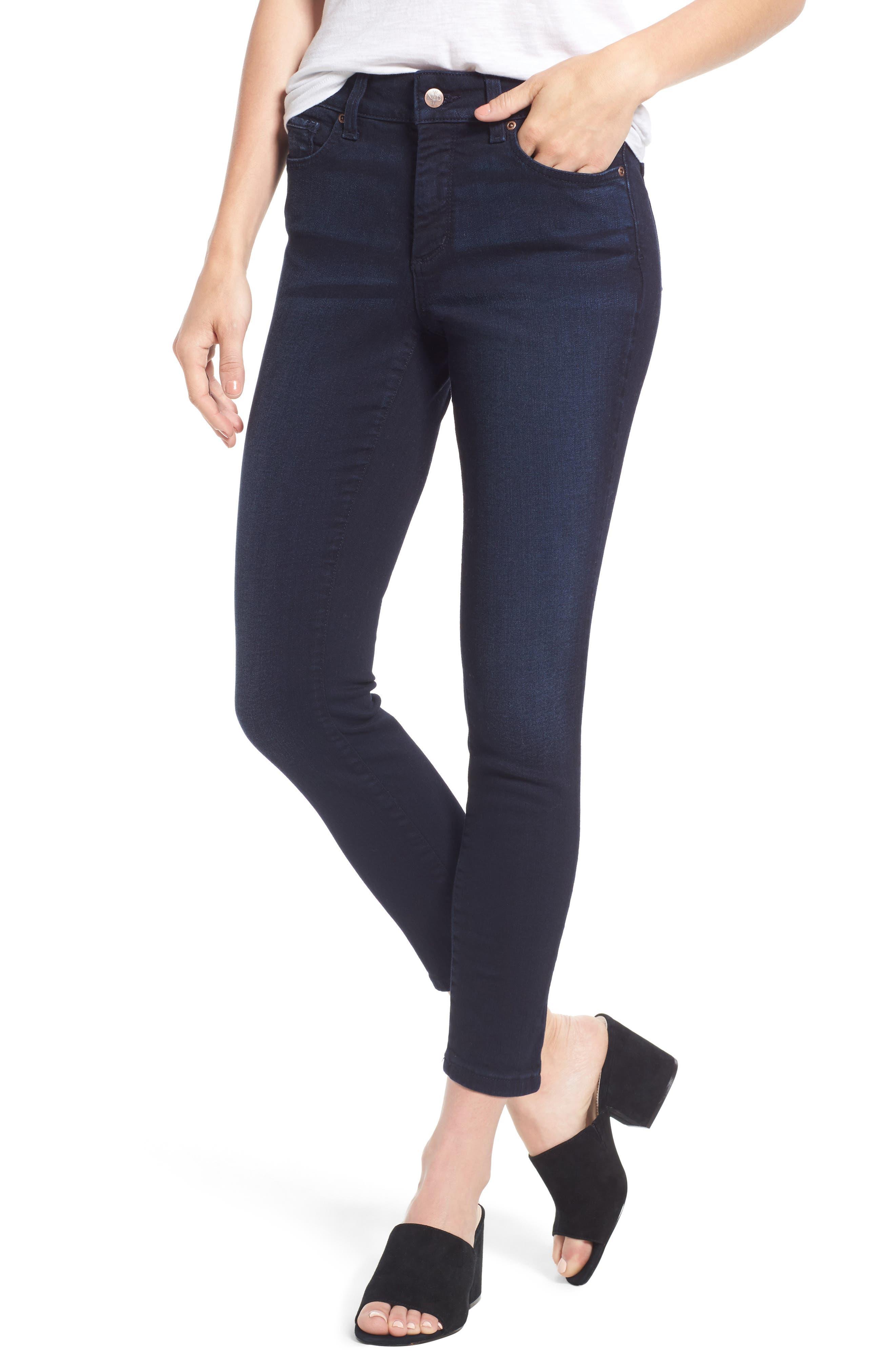 Alternate Image 1 Selected - NYDJ Ami Stretch Ankle Skinny Jeans (Sinclair) (Regular & Petite)