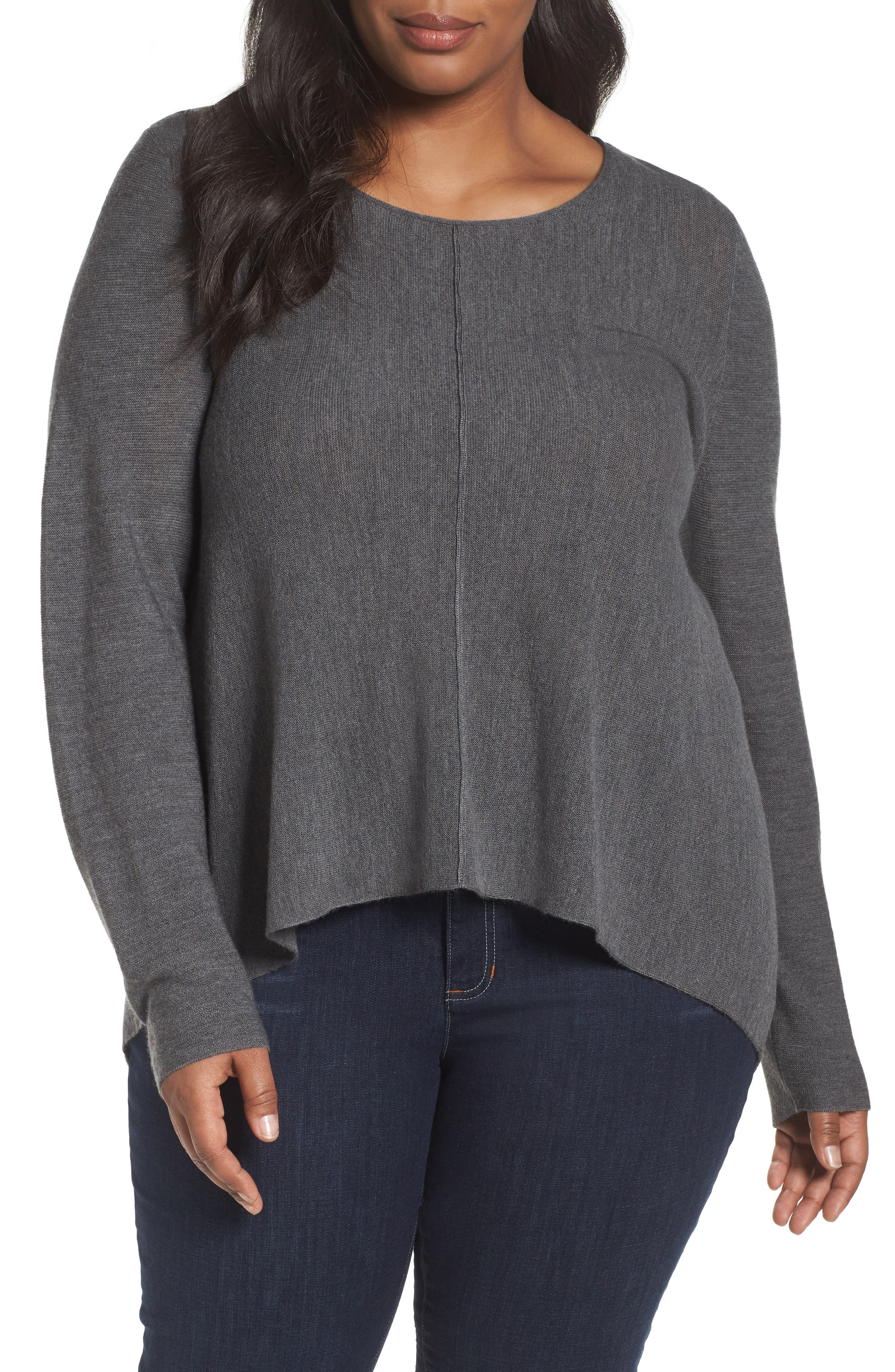 Eileen Fisher Seam Front Merino Sweater