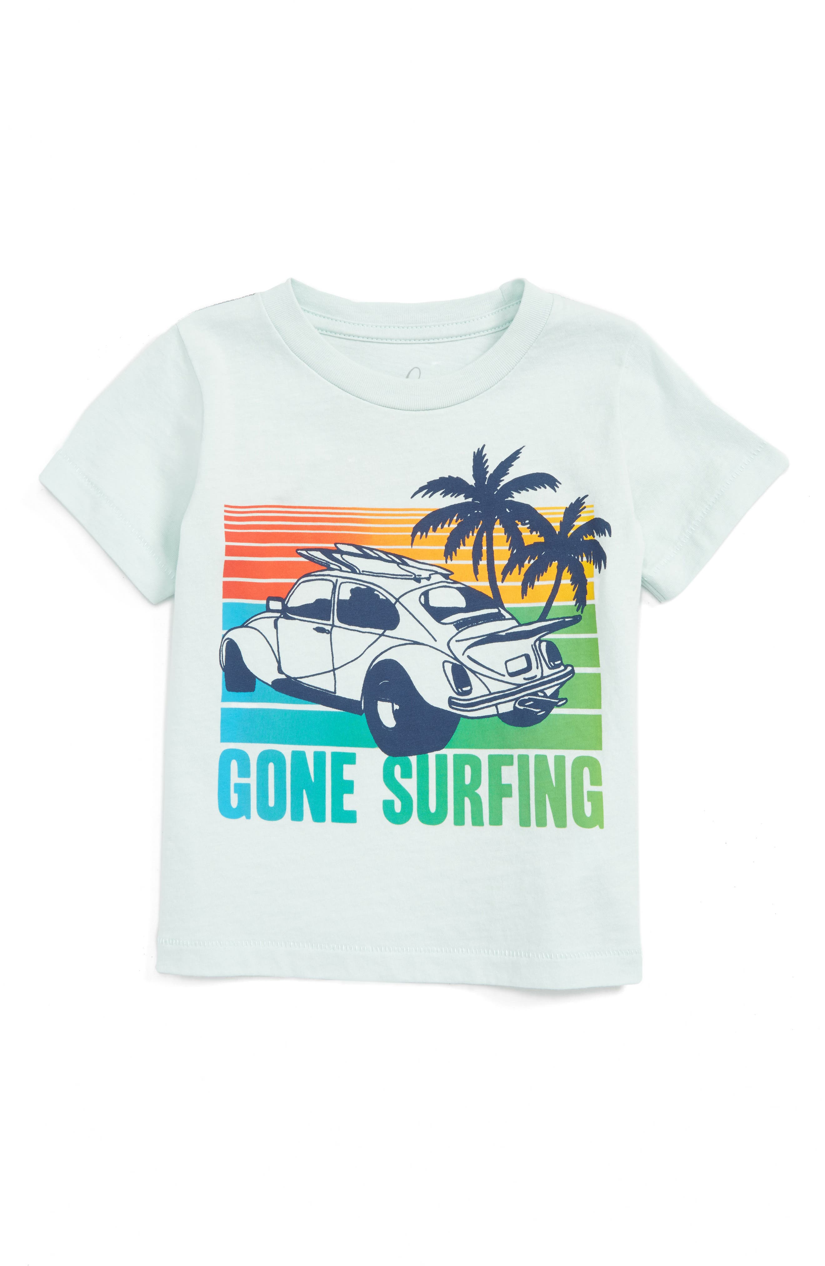 Peek Gone Surfing Graphic T-Shirt (Baby Boys)