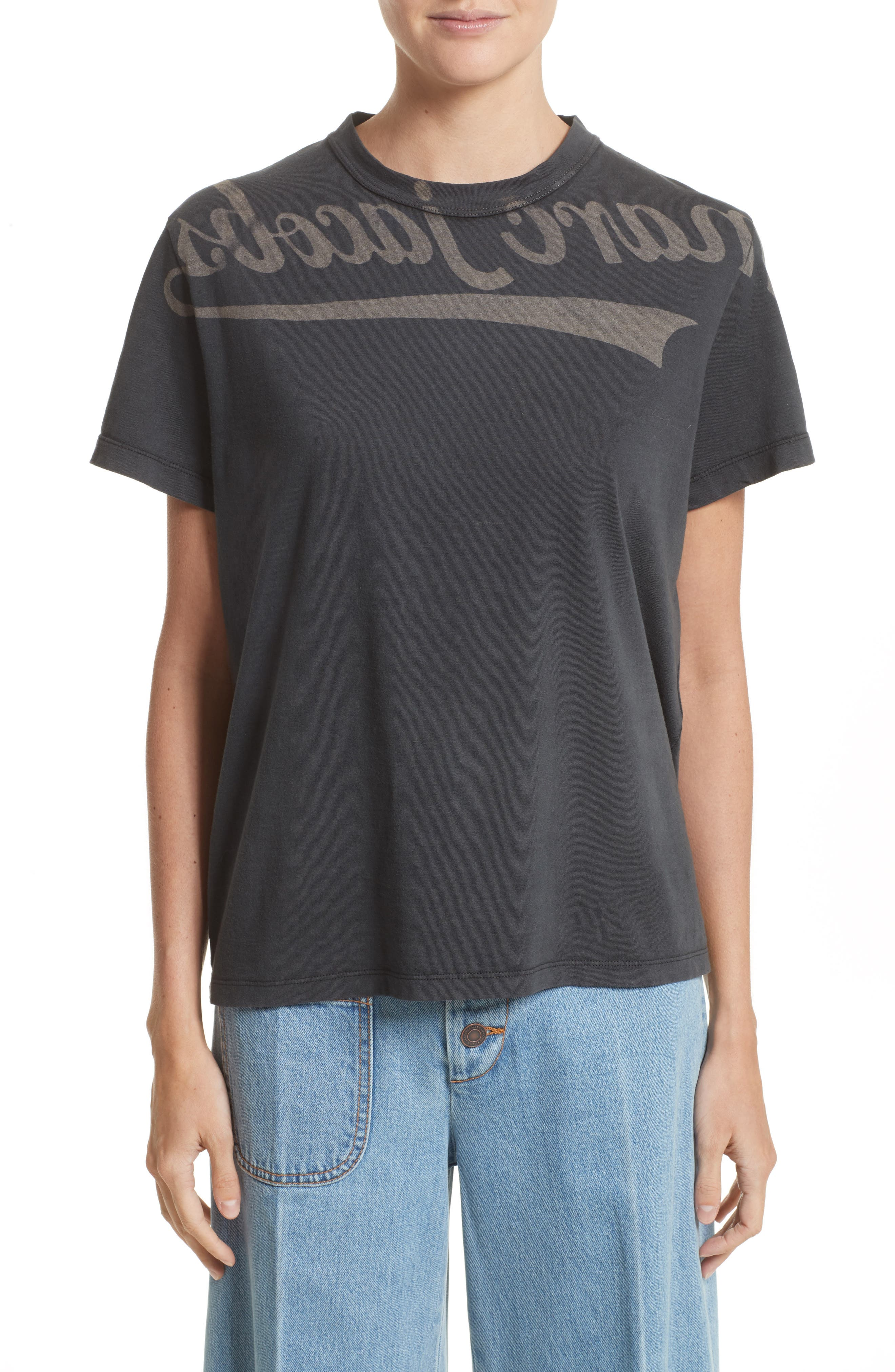MARC JACOBS Reverse Logo Tee