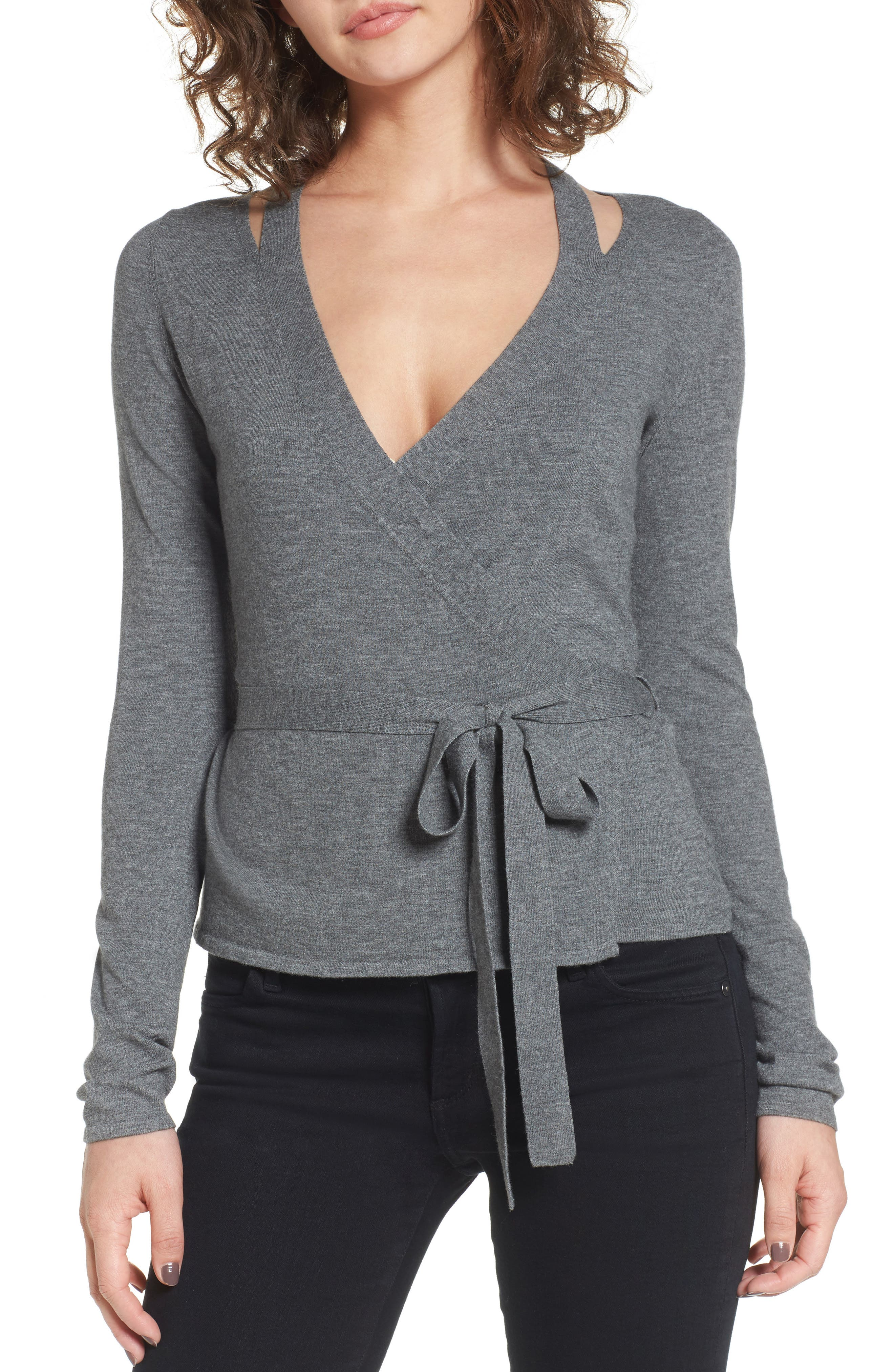 Bailey 44 Glissade Wrap Sweater