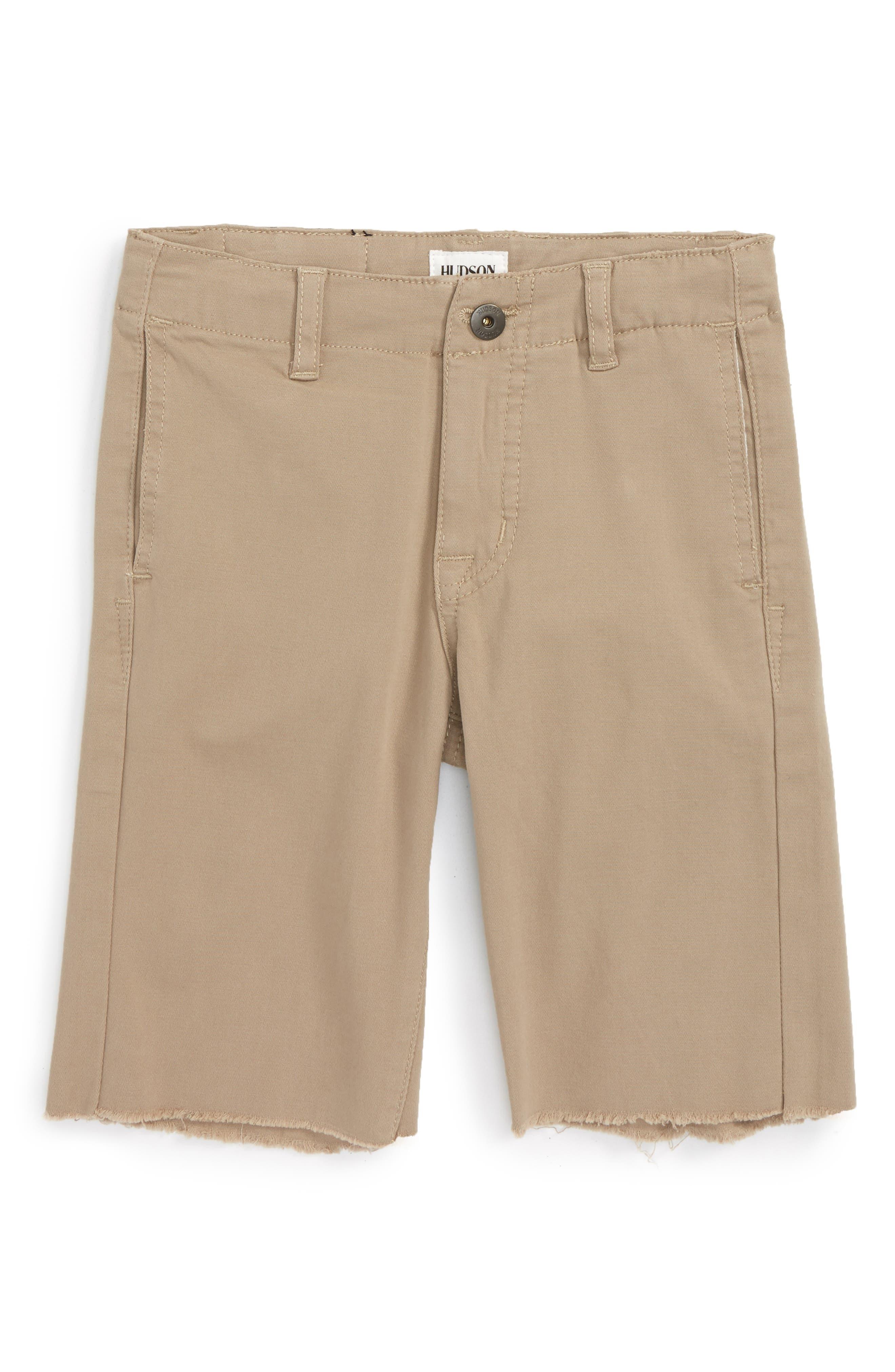 Hudson Kids Beach Daze Raw Hem Shorts (Big Boys)
