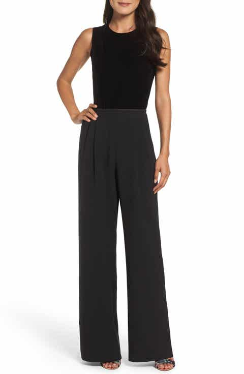 Eliza J Women's Black Jumpsuits & Rompers Dresses | Nordstrom