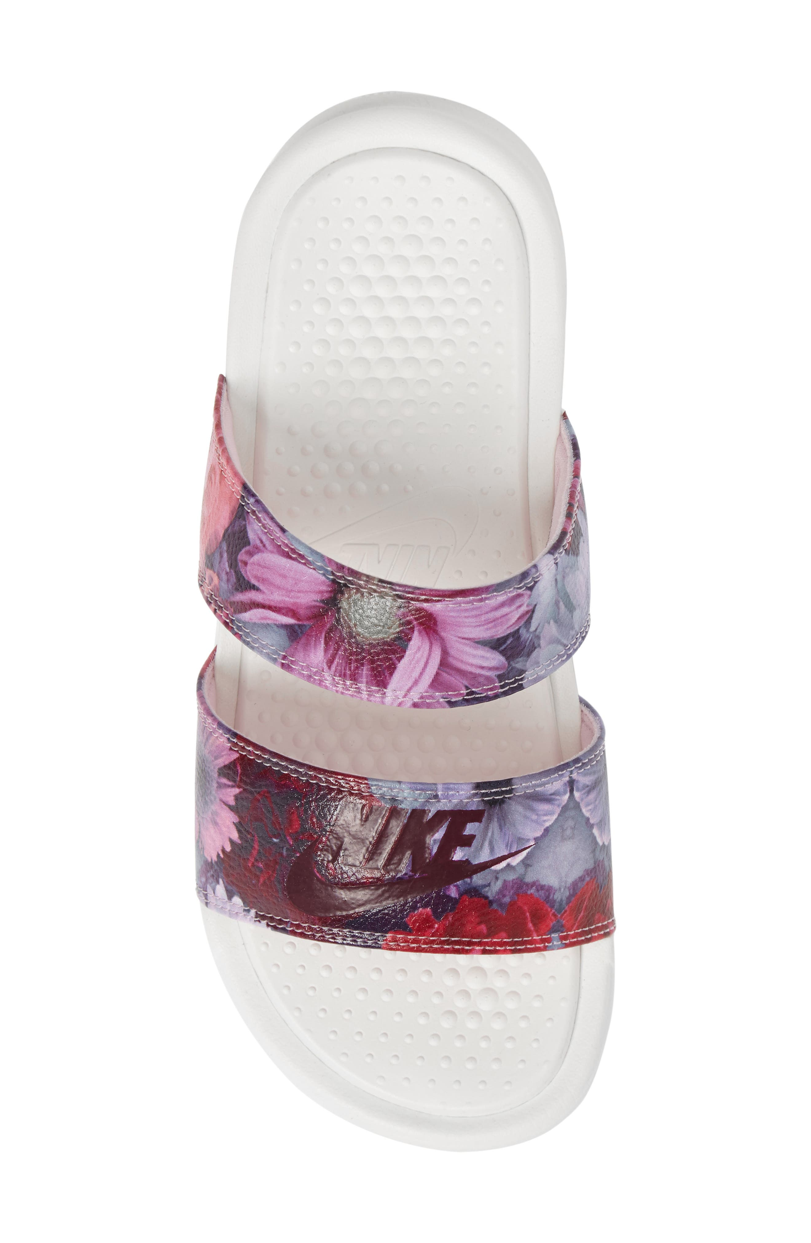 Alternate Image 5  - Nike Benassi Duo Ultra Slide Sandal (Women)
