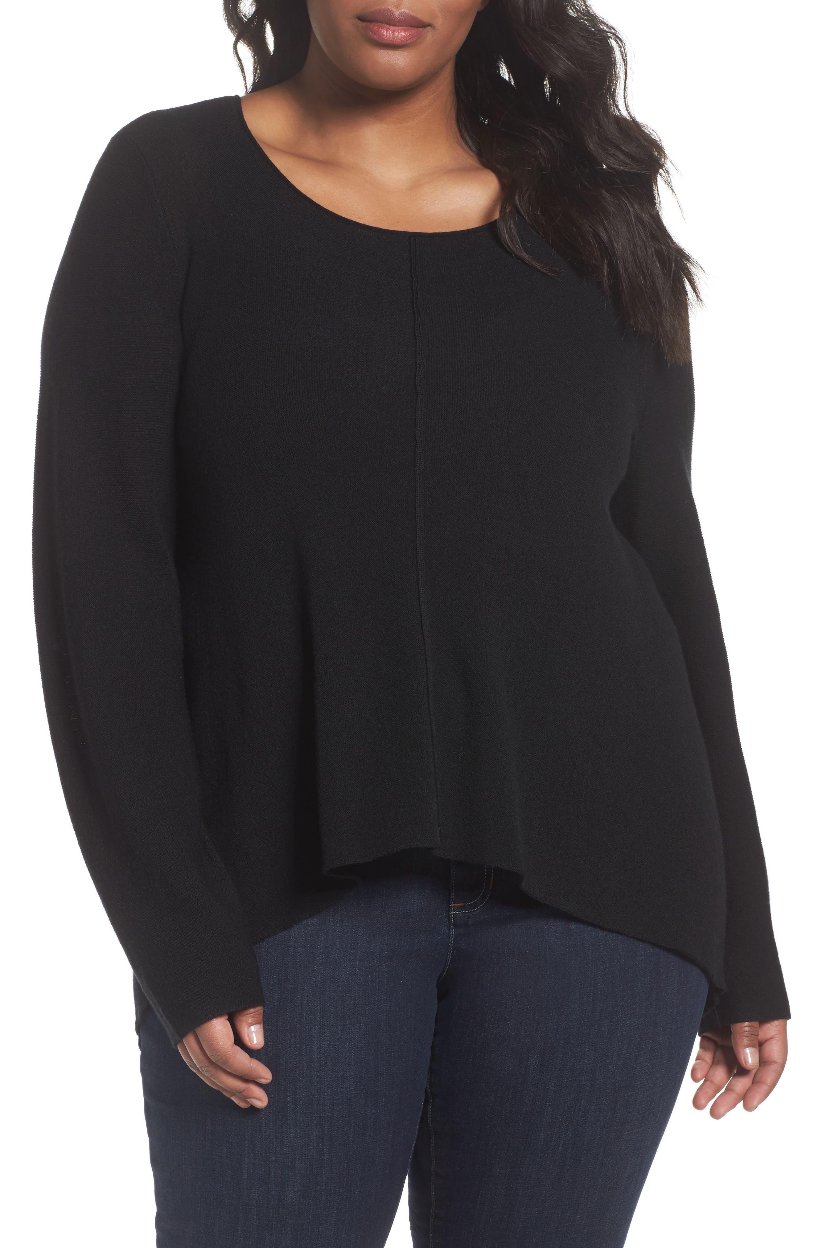 Eileen Fisher Seam Front Merino Sweater