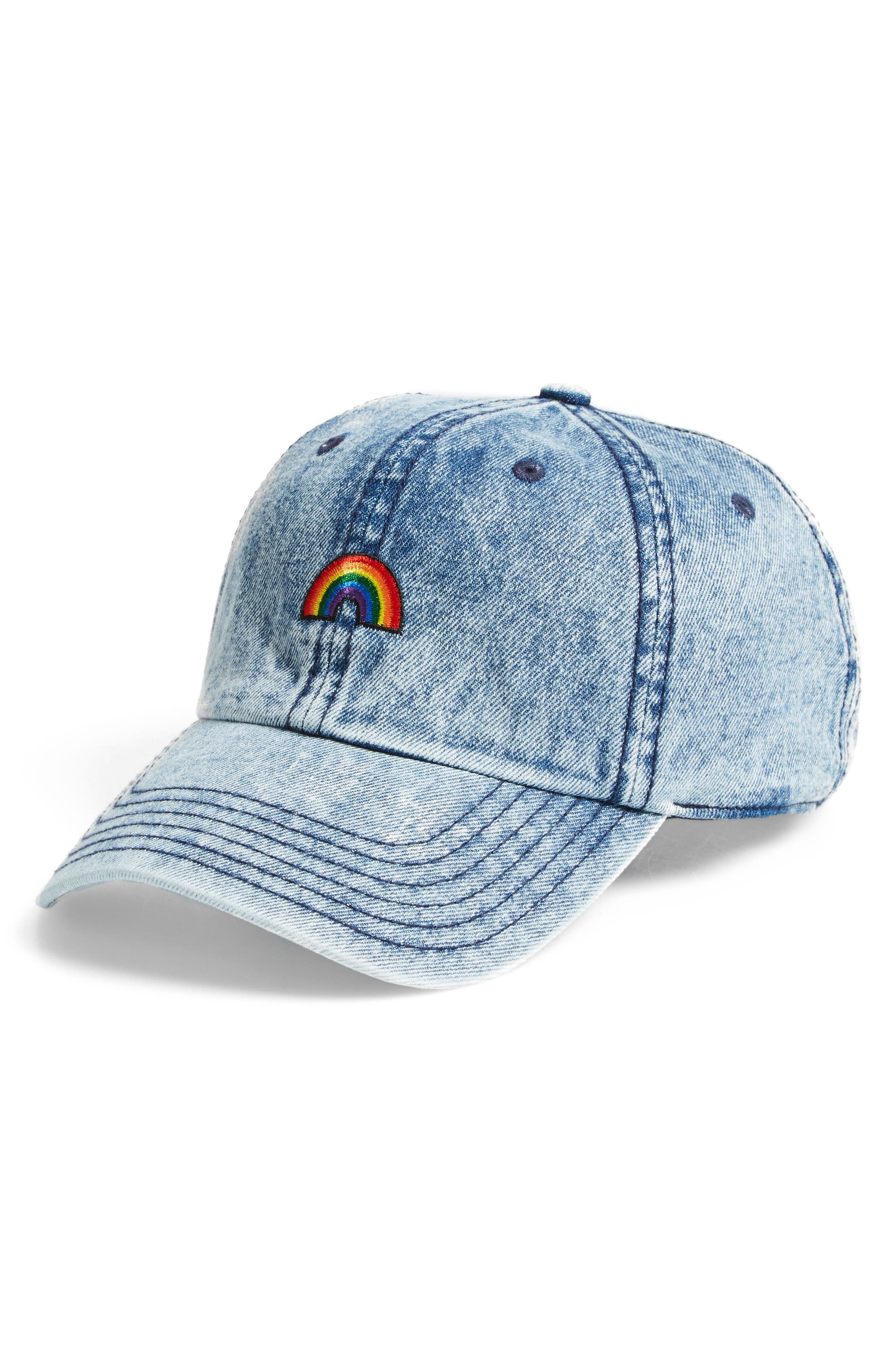 BP. Washed Denim Baseball Cap
