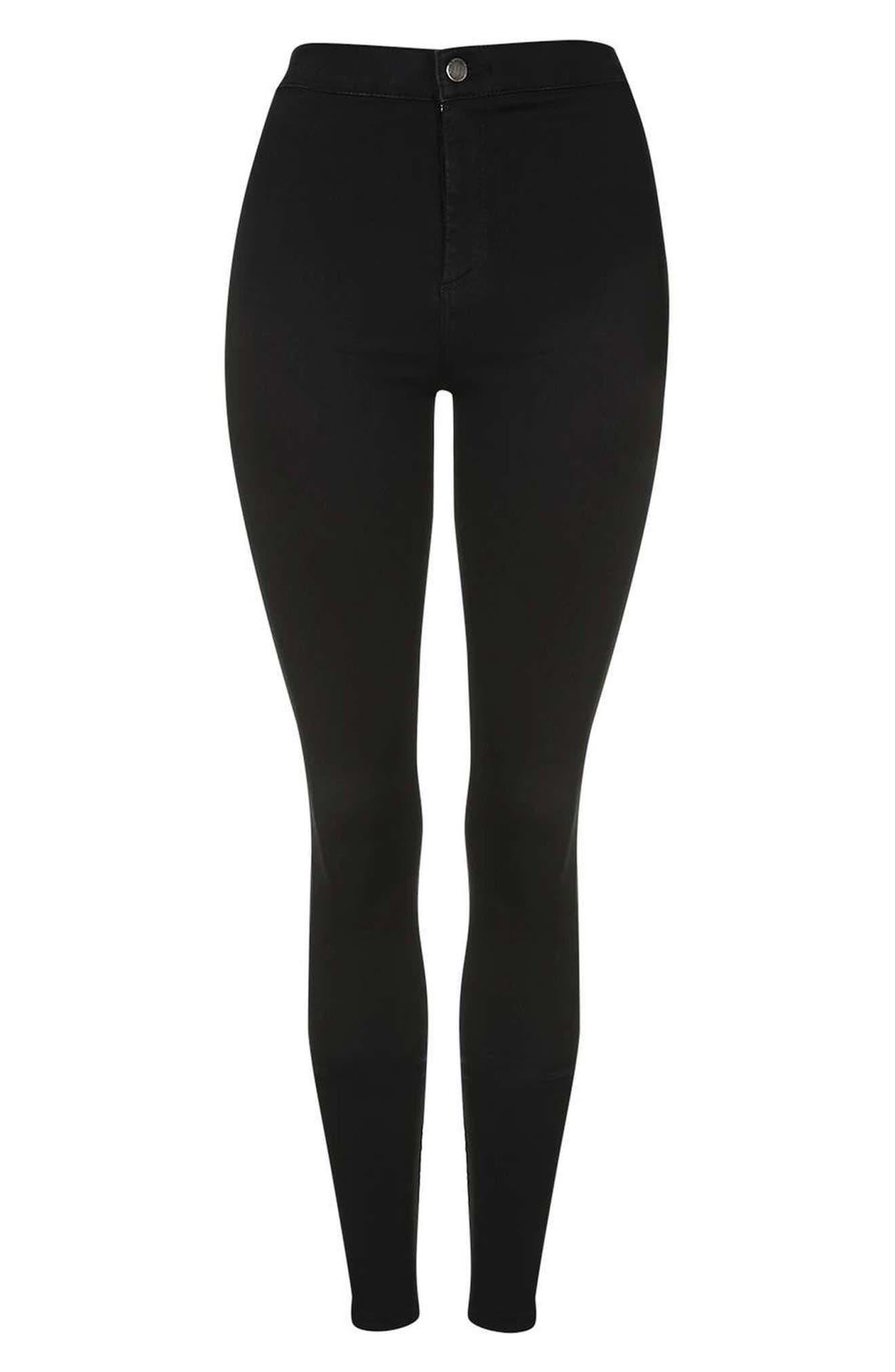 Alternate Image 5  - Topshop Joni High Waist Skinny Jeans