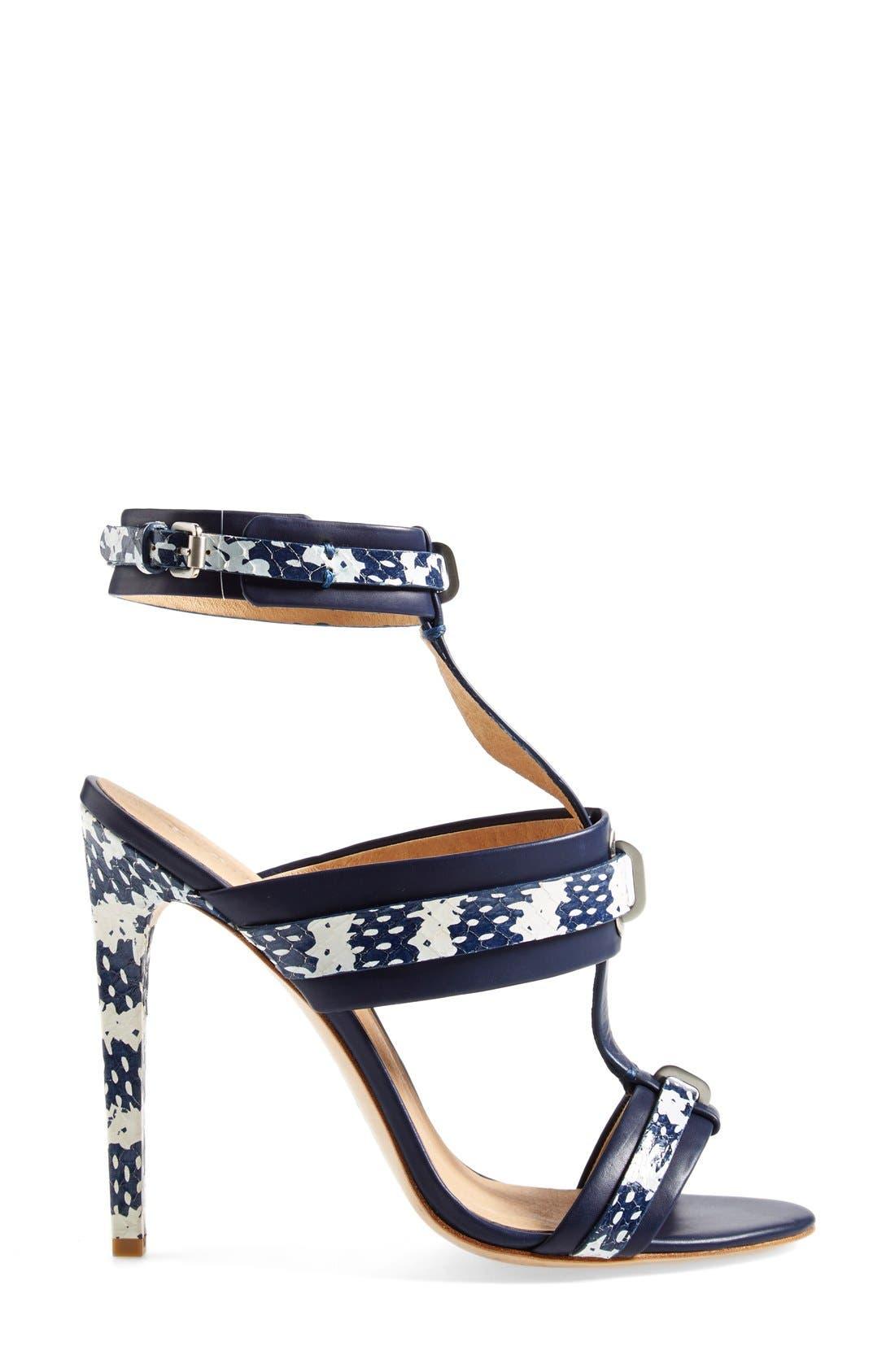Alternate Image 4  - L.A.M.B. 'Bradley' T-Strap Sandal (Women)