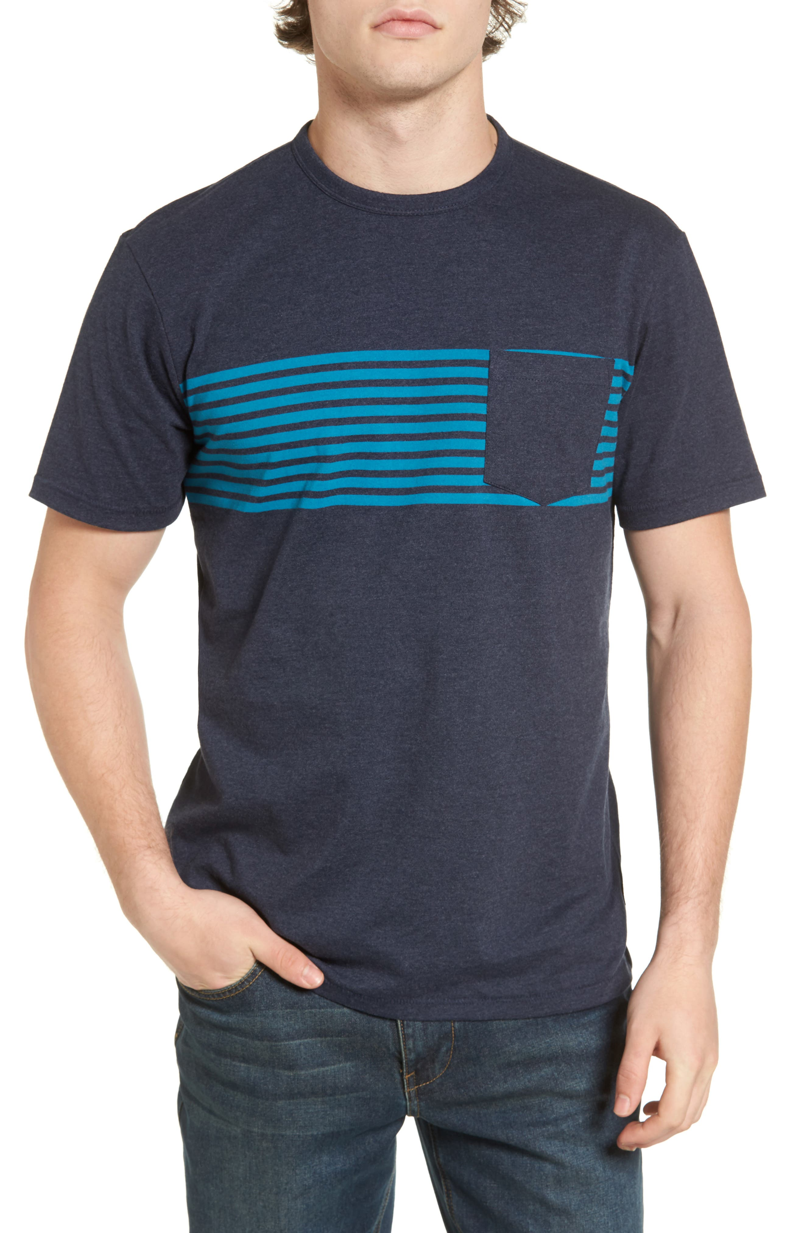 O'Neill Rodgers Striped Pocket T-Shirt