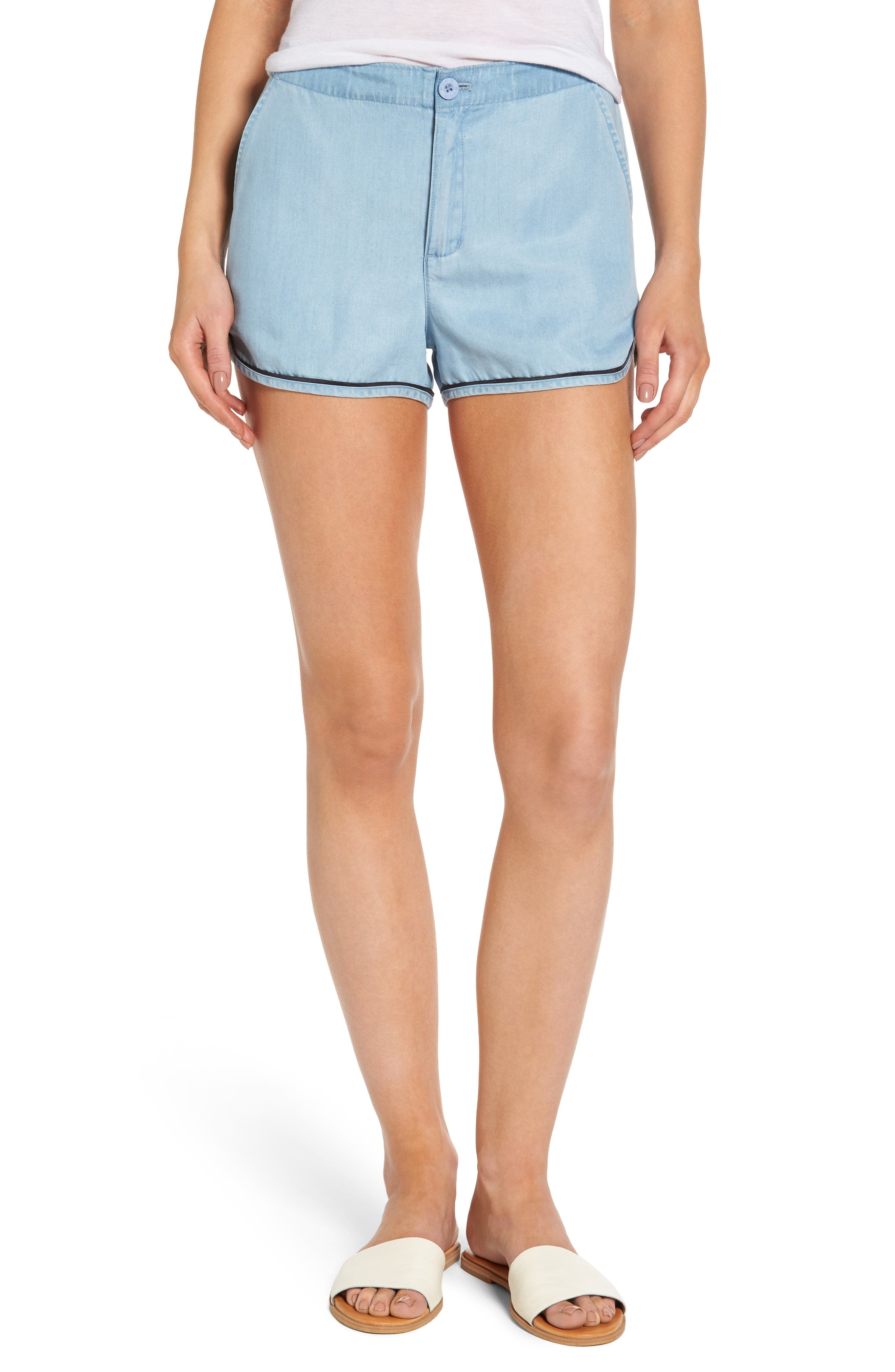 RVCA Golden Days Chambray Shorts
