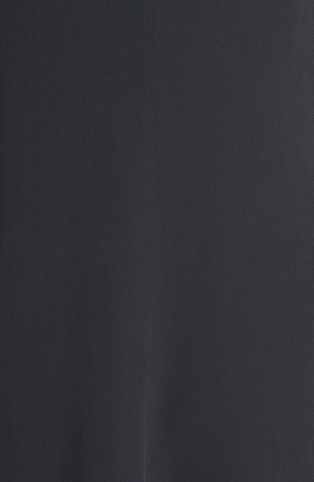 Alternate Image 3  - Eileen Fisher Keyhole Detail Double Layer Silk Shift Dress (Regular & Petite)