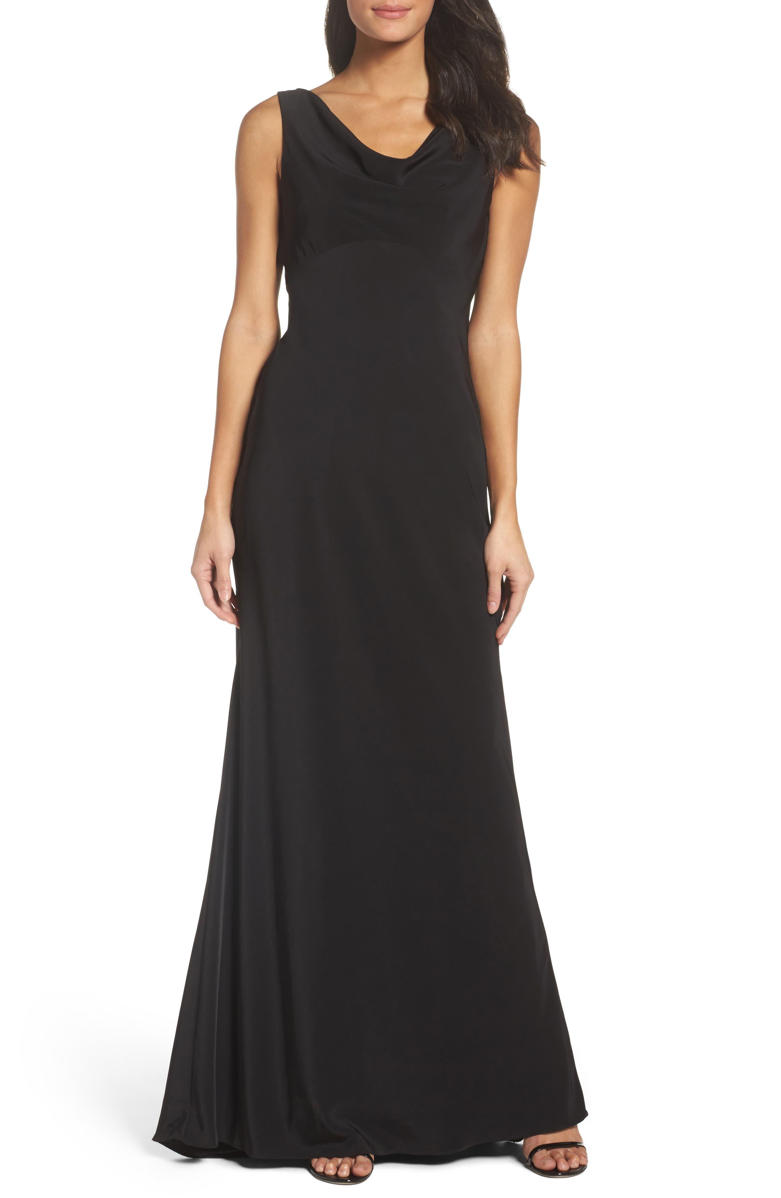 Xscape Draped Gown