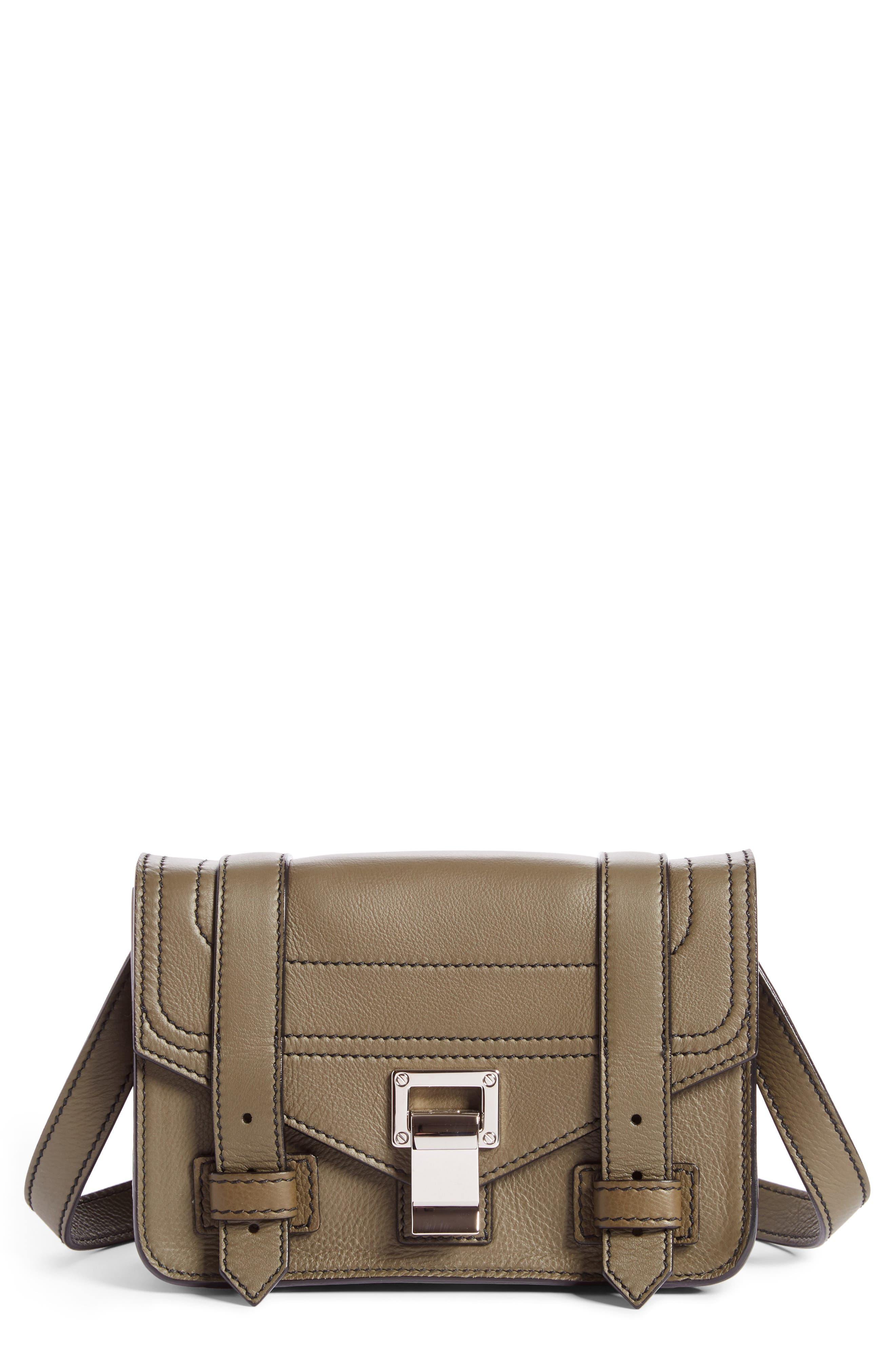 Proenza Schouler Mini PS1 Leather Crossbody Bag