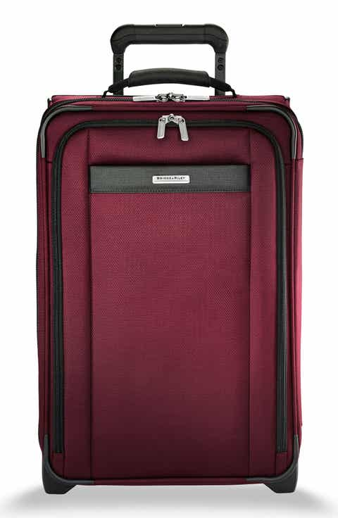 The Briggs and Riley Transcend collection features lightweight and leisure luggage that is lightweight, durable, and extremely abrasion resistant.