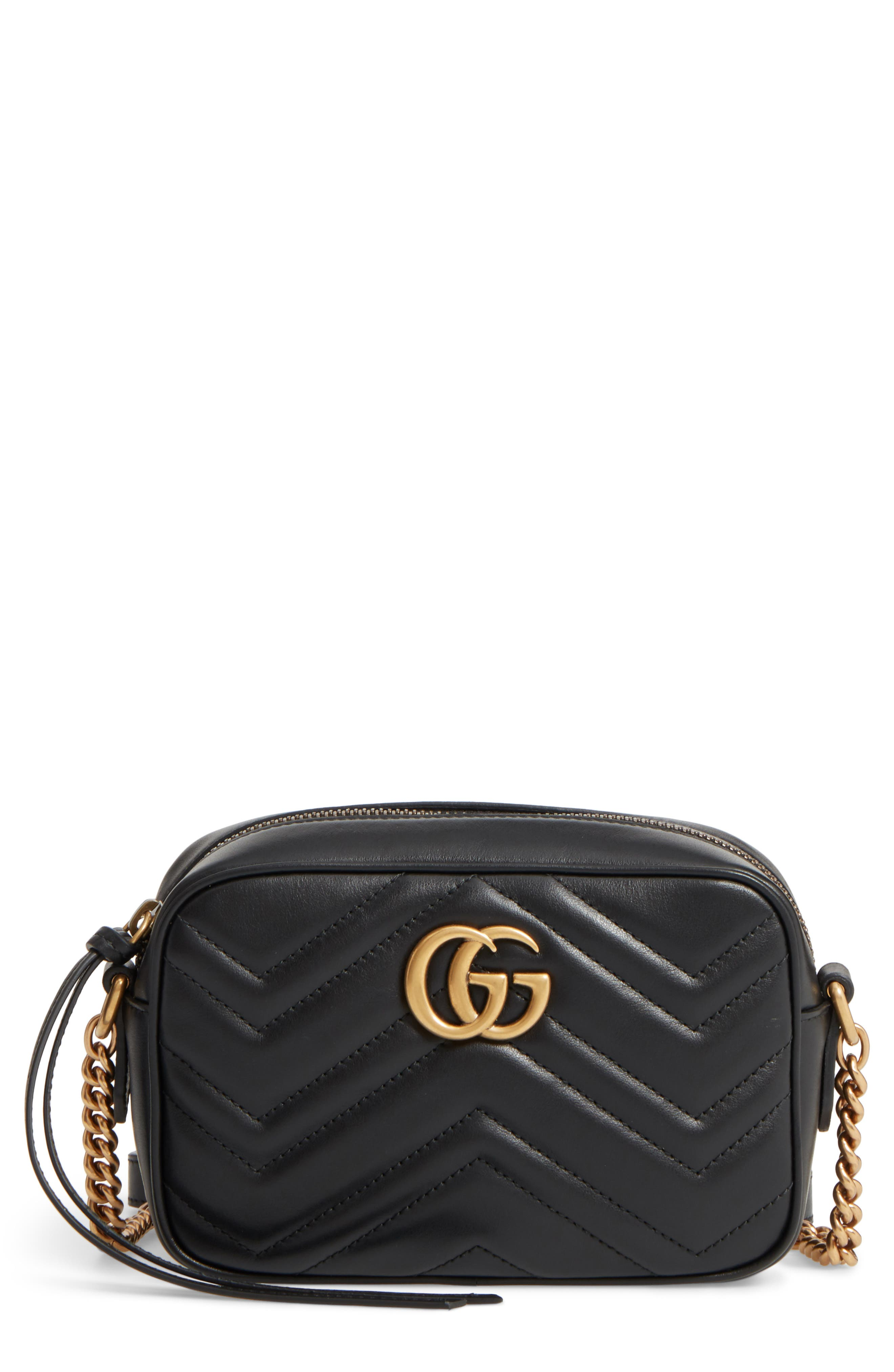 Alternate Image 1 Selected - Gucci GG Marmont 2.0 Matelassé Leather Shoulder Bag