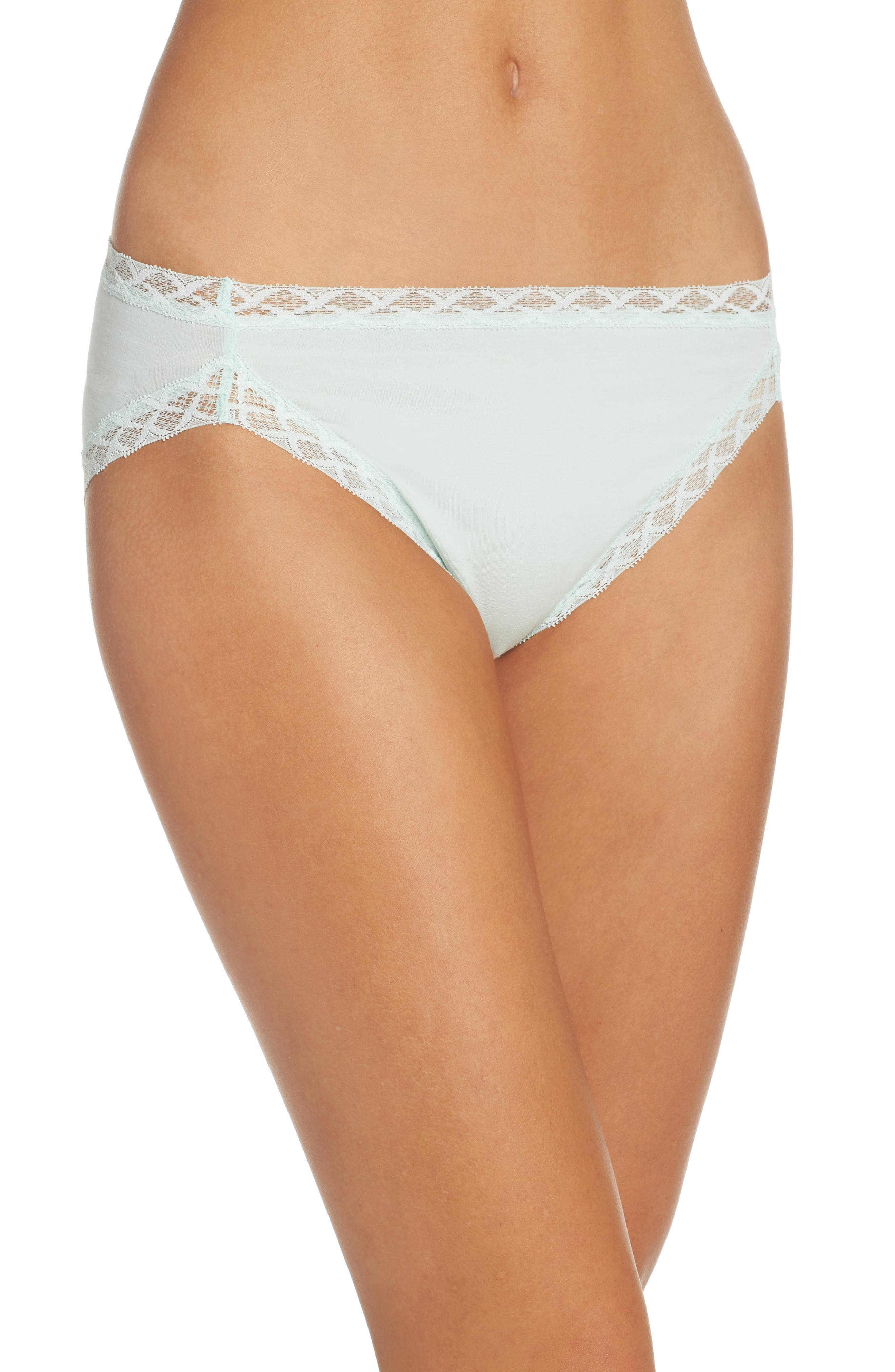 Alternate Image 1 Selected - Natori Bliss French Cut Briefs (3 for $36)