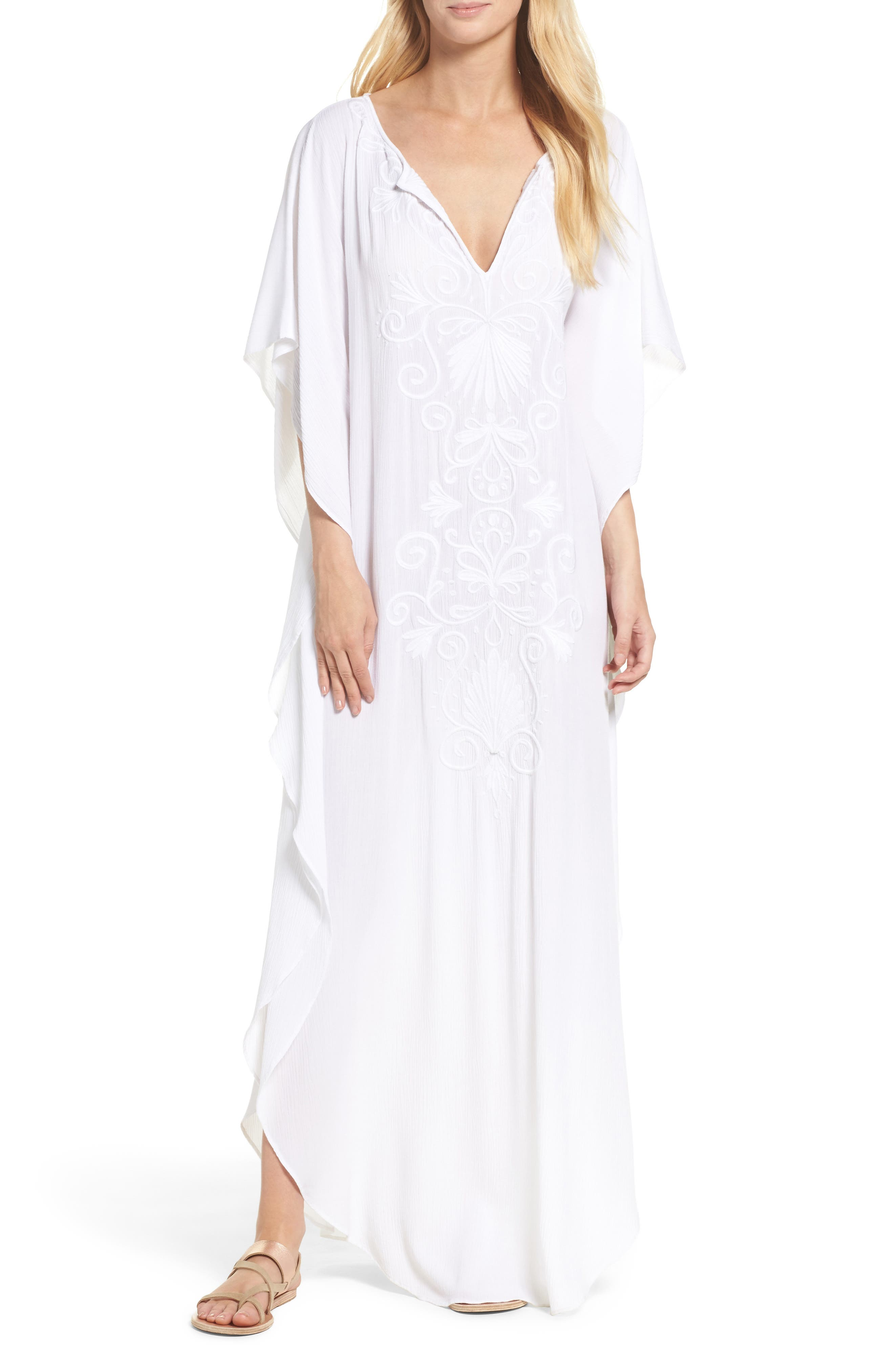 Lilly Pulitzer® Mella Cover-Up Maxi Dress