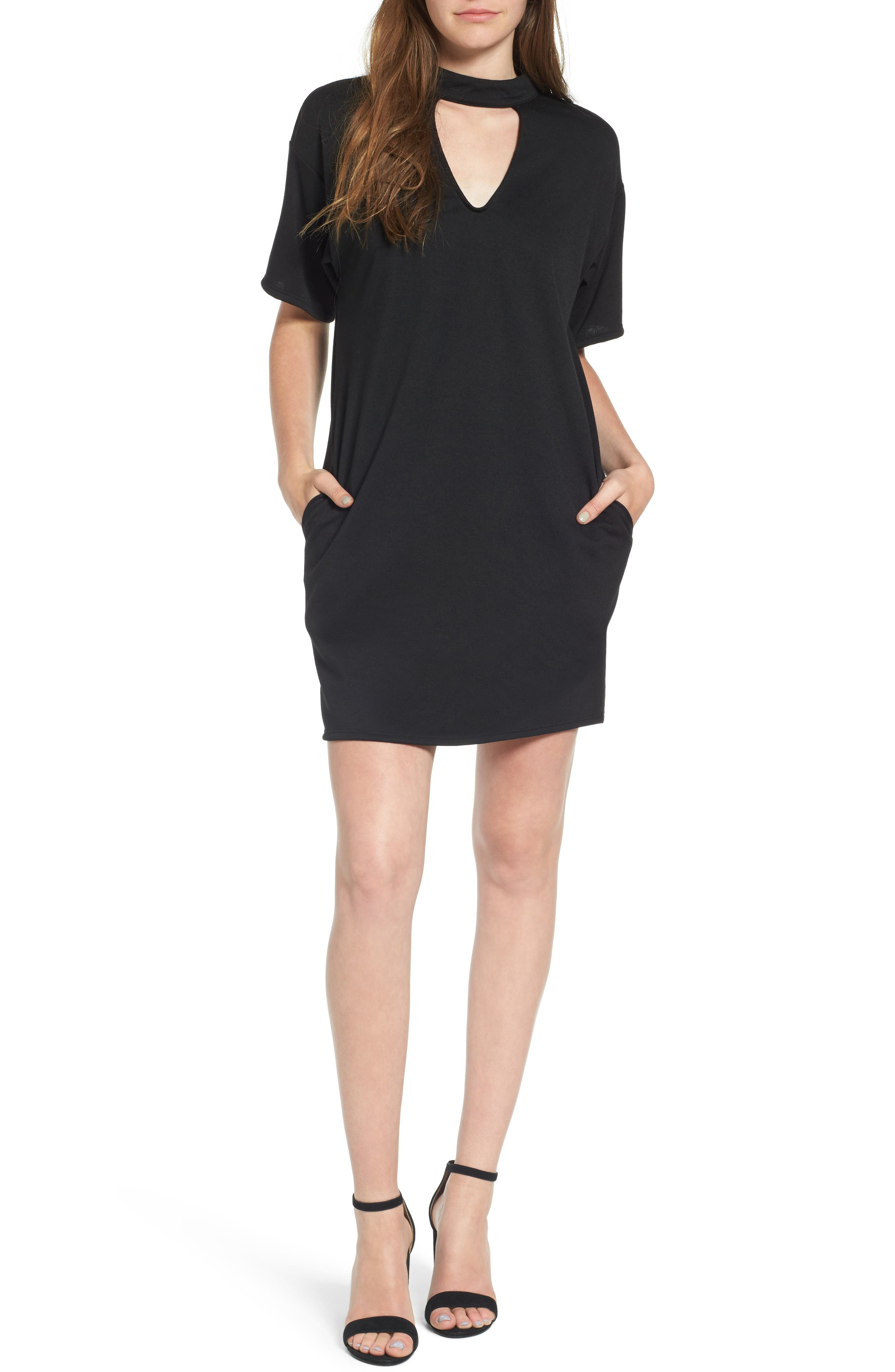 Dee Elly Gigi Cutout T-Shirt Dress
