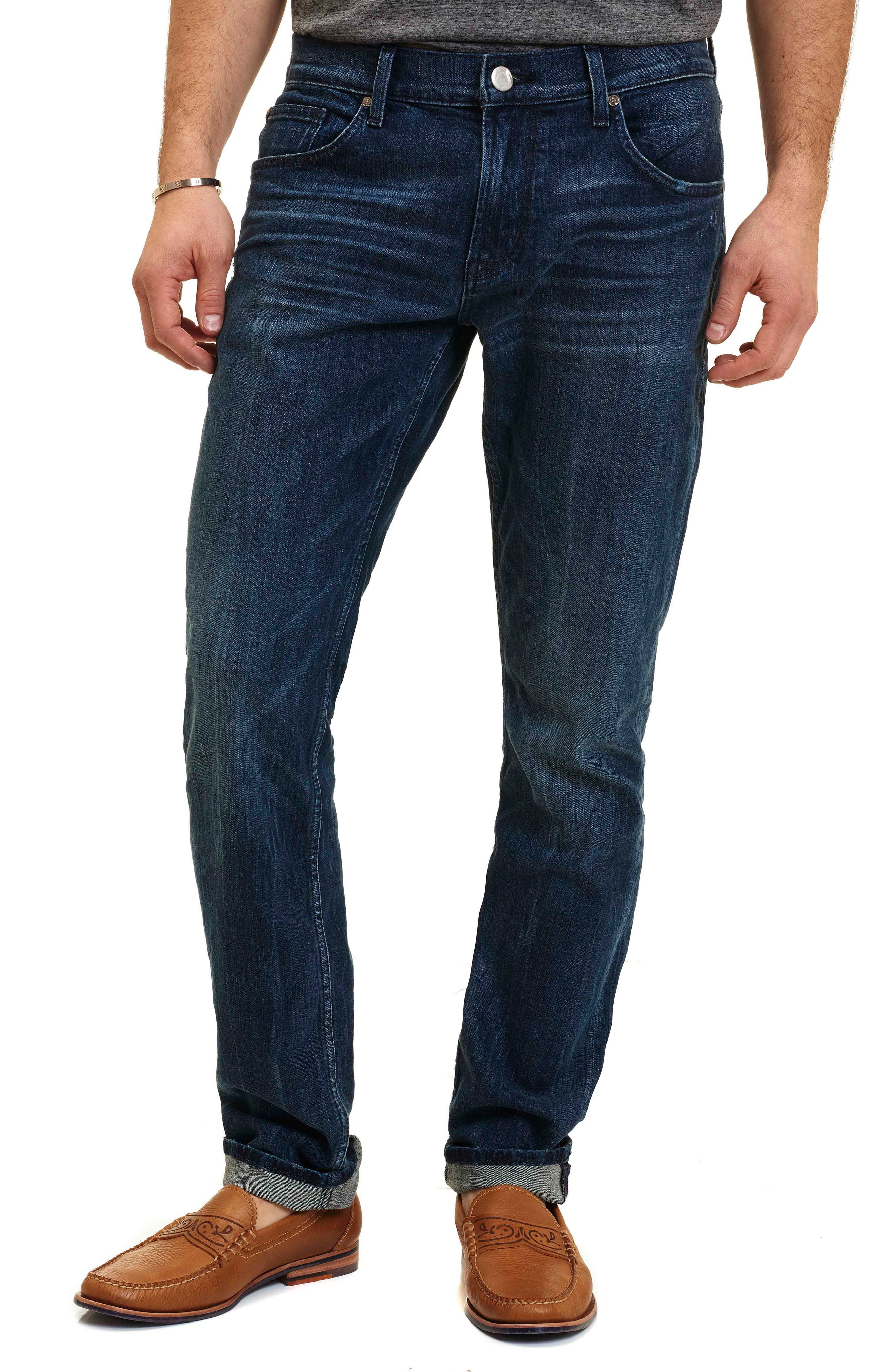 Robert Graham Activate Tailored Fit Jeans (Indigo)