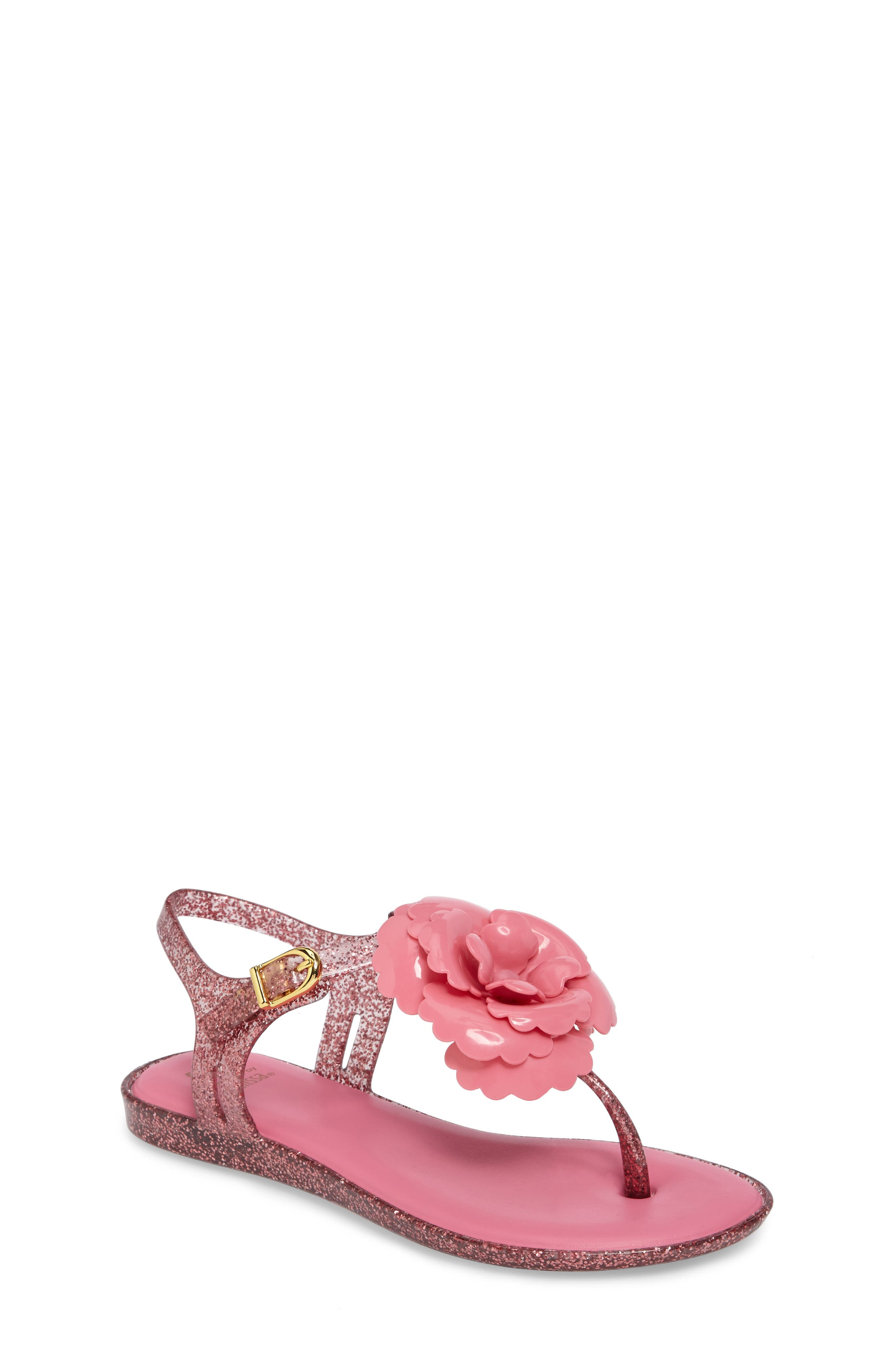 Mel by Melissa Solar II Flower Sandal (Toddler & Little Kid)