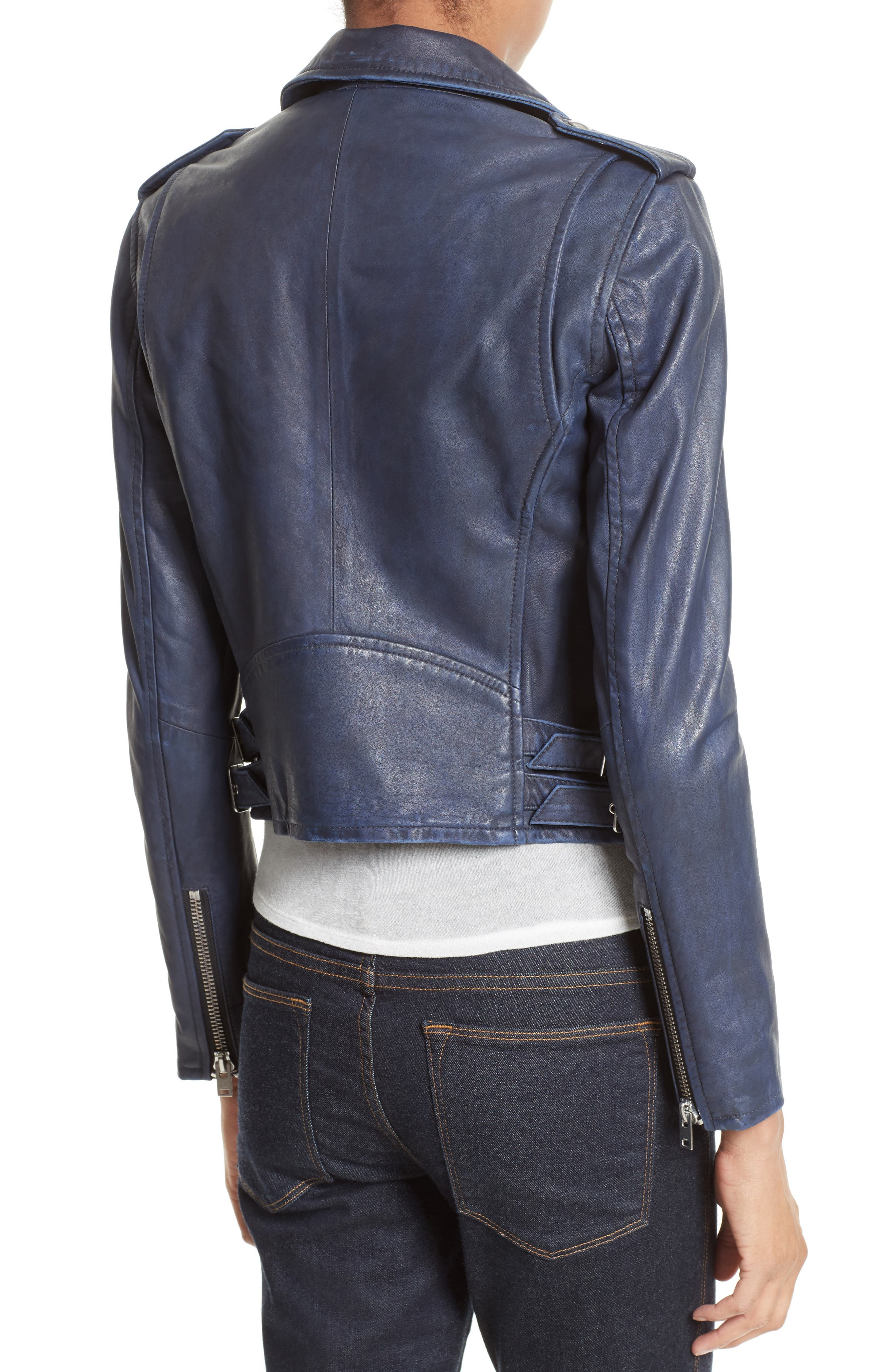 Alternate Image 2  - IRO 'Ashville' Leather Jacket