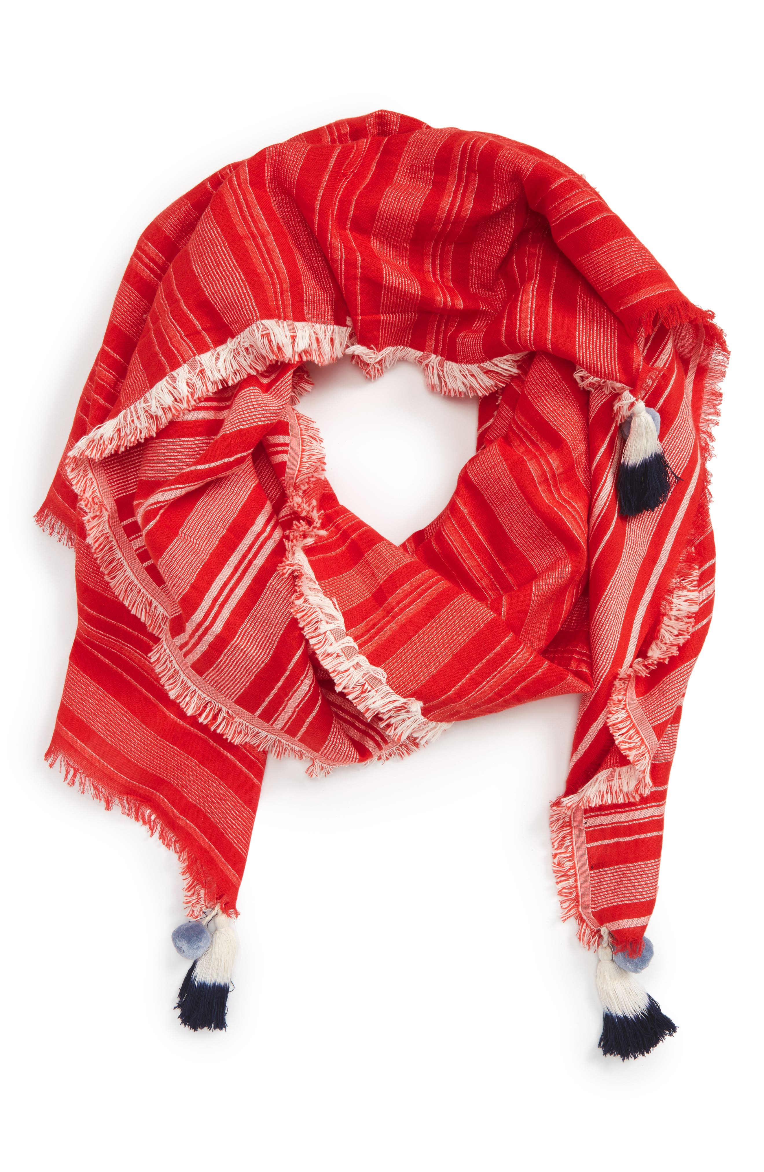 Madewell Reversible Stripe Scarf
