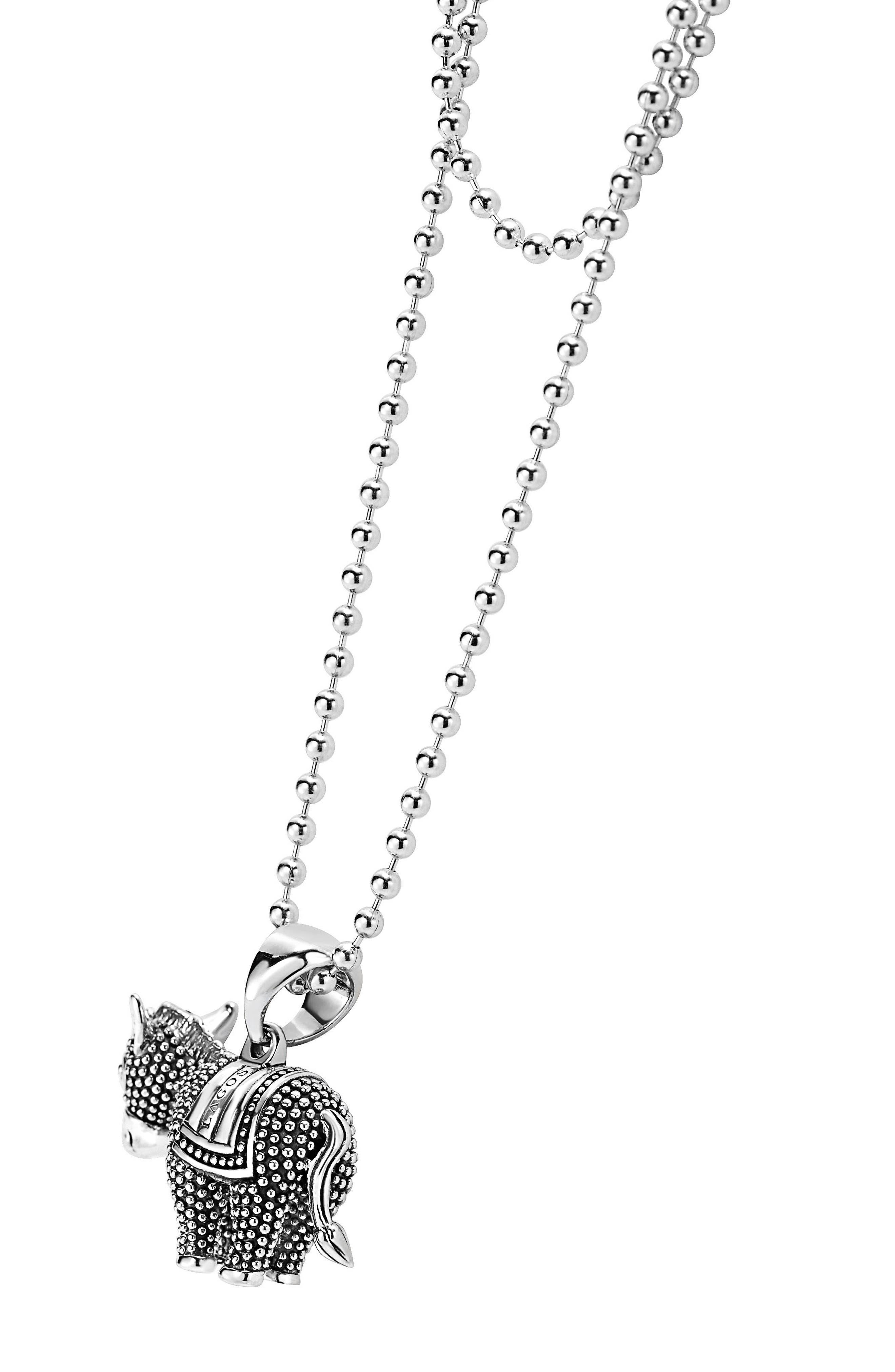 Alternate Image 4  - LAGOS 'Rare Wonders' Long Talisman Necklace