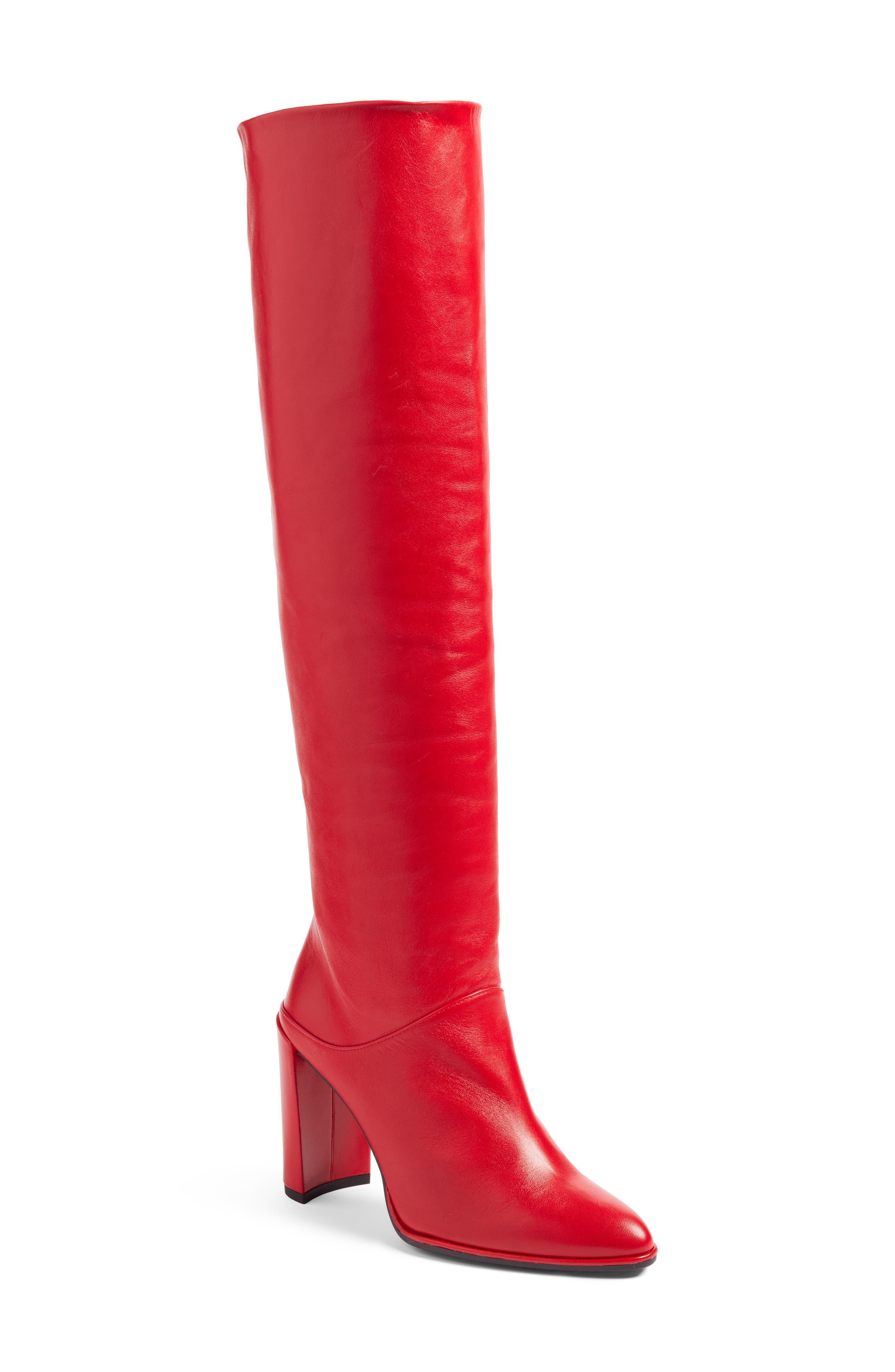 Stuart Weitzman Smashing Knee High Boot (Women)