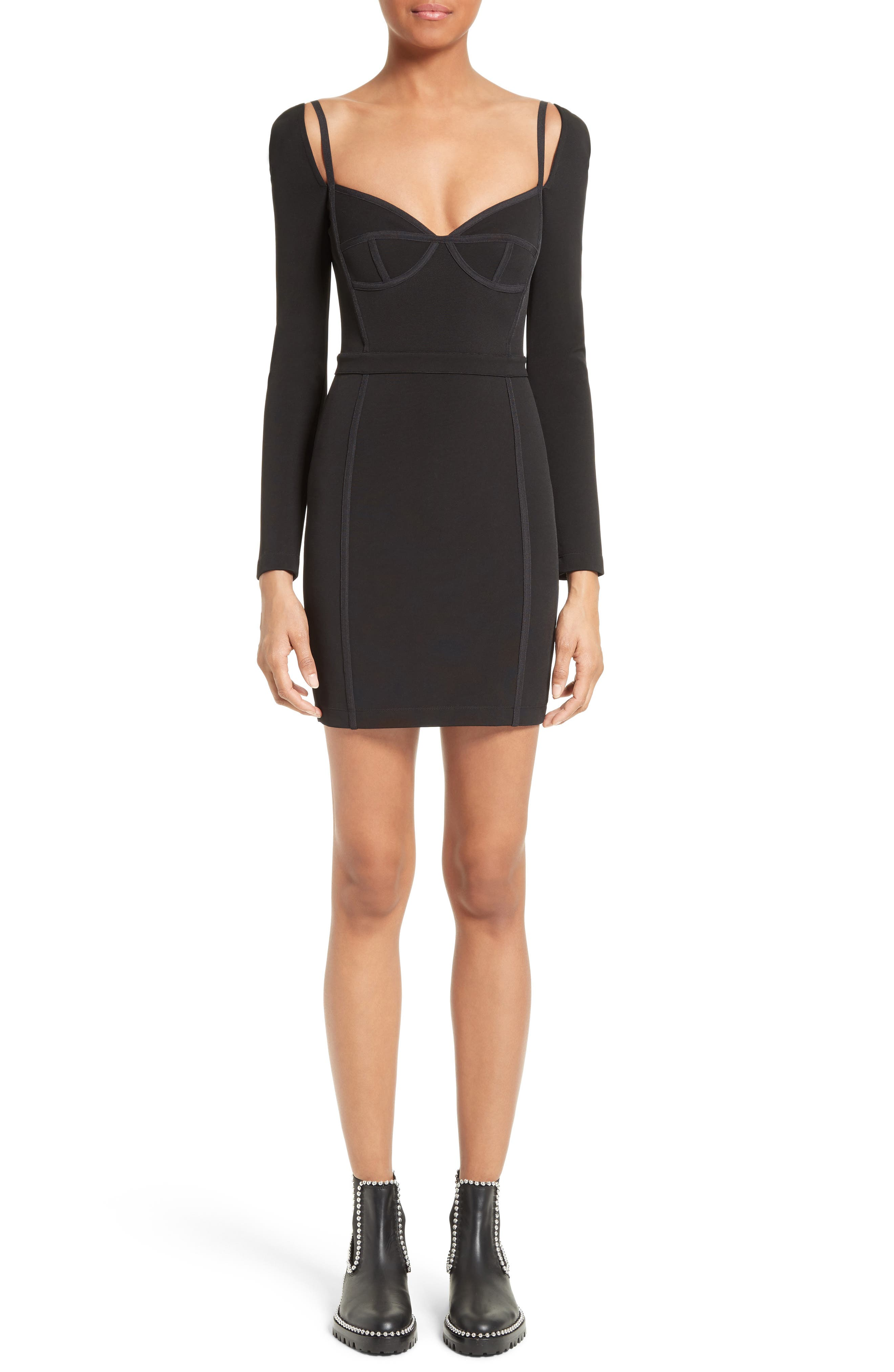 T by Alexander Wang Body-Con Dress