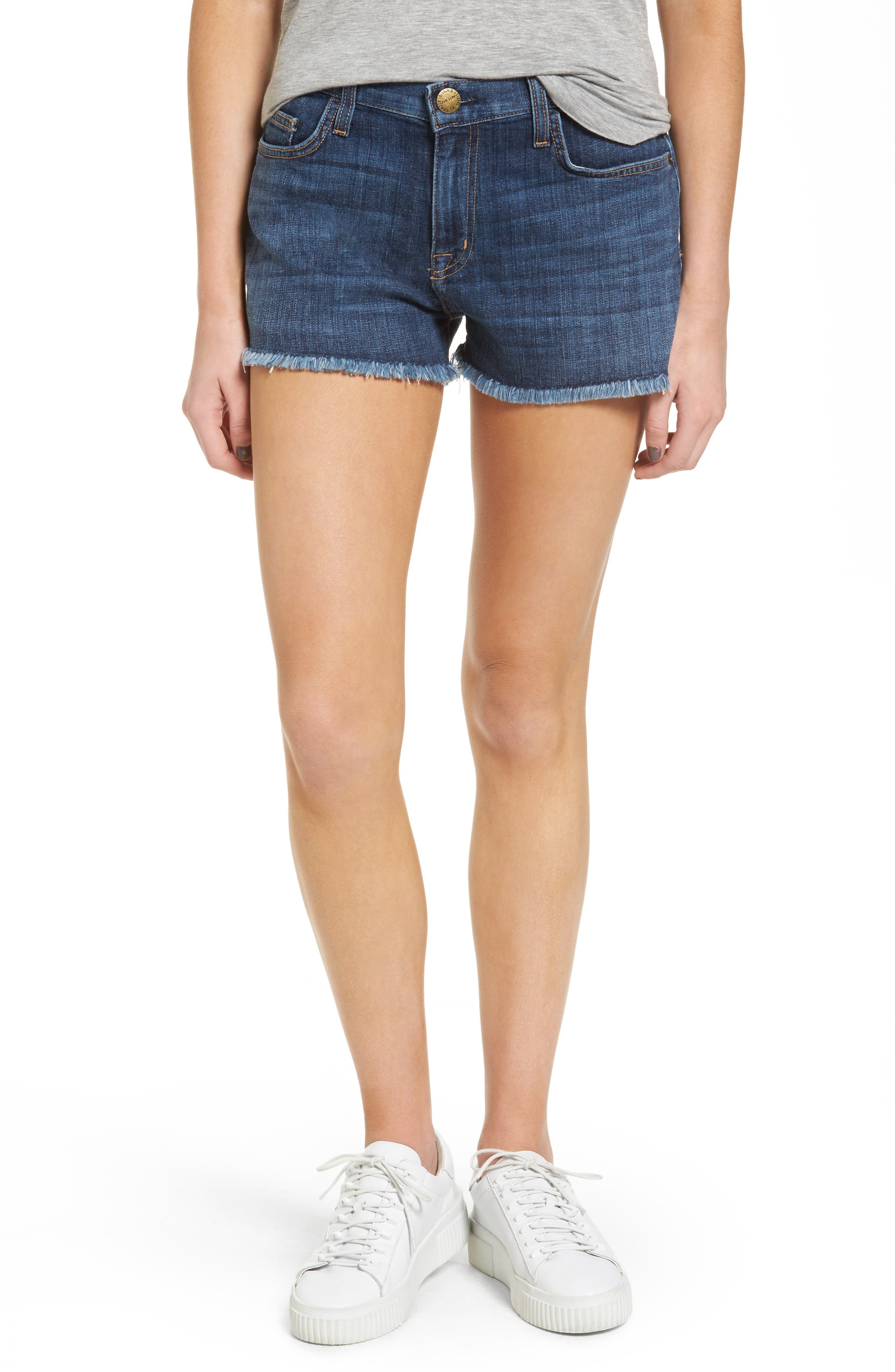 Current/Elliott The Boyfriend Denim Shorts (In Love)