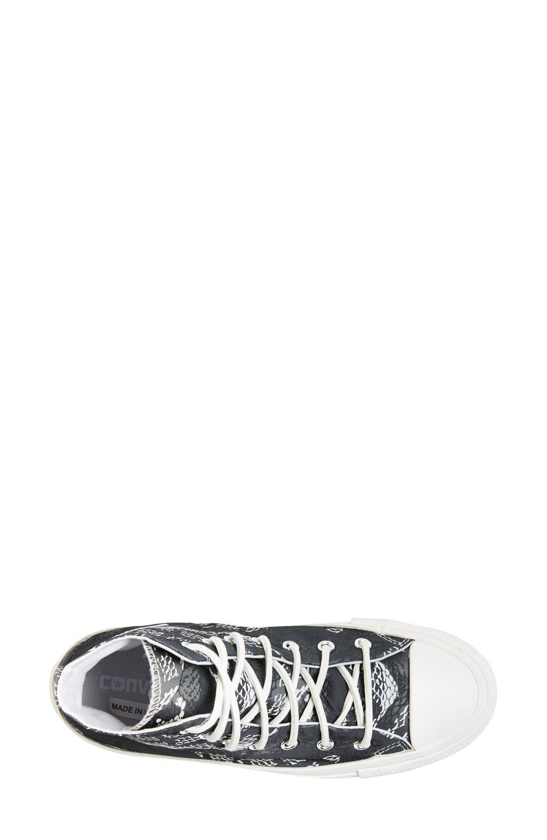 Alternate Image 3  - Converse Chuck Taylor® 'Reptile Print' High Top Sneaker (Women)