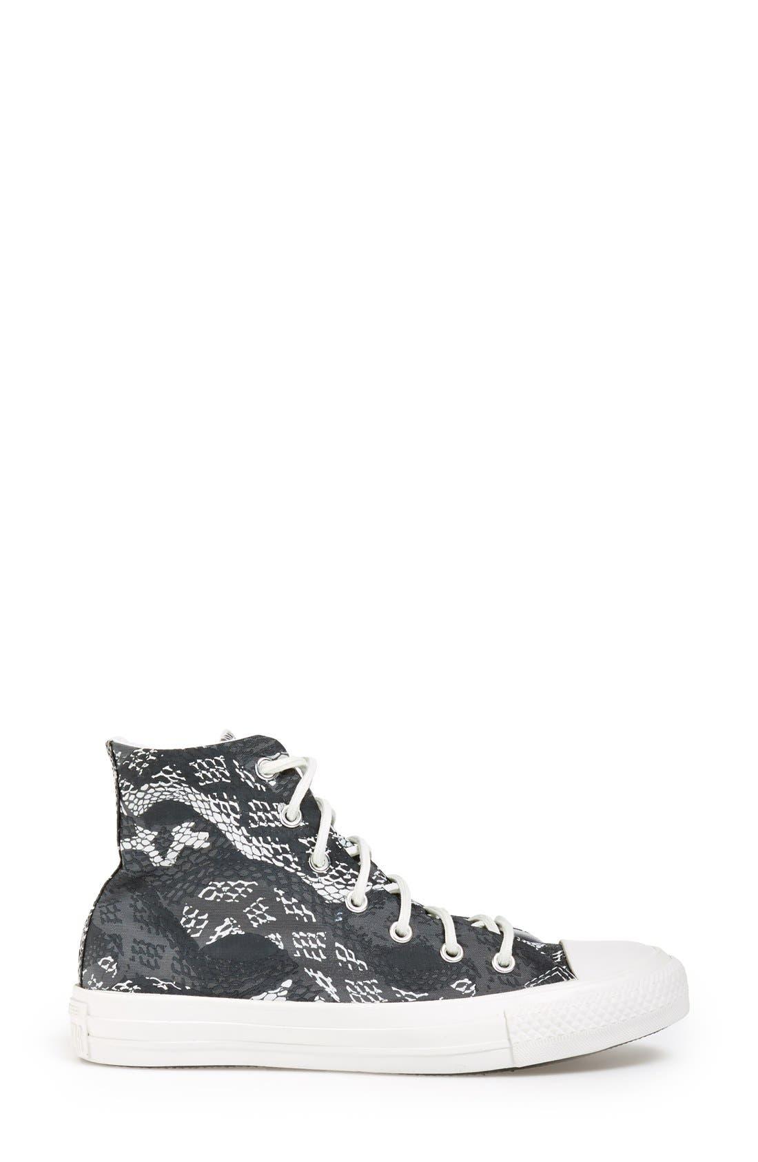 Alternate Image 5  - Converse Chuck Taylor® 'Reptile Print' High Top Sneaker (Women)