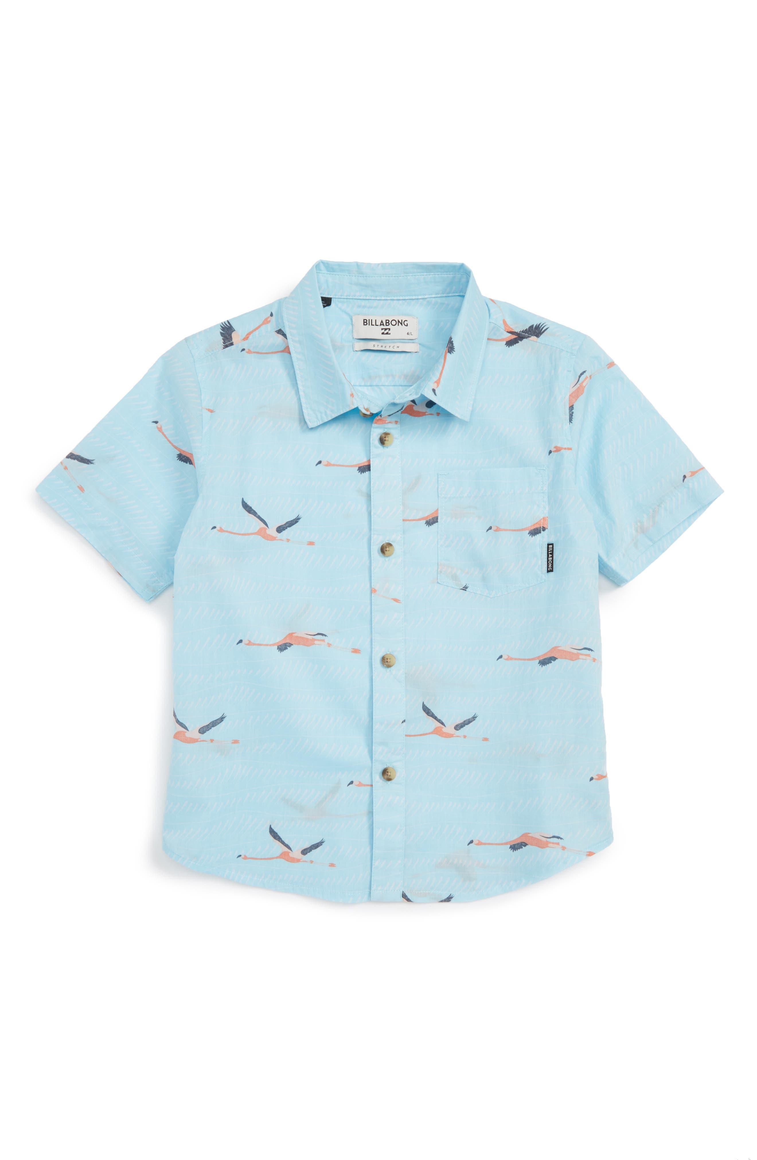 Billabong Vacay Woven Shirt (Toddler Boys & Little Boys)